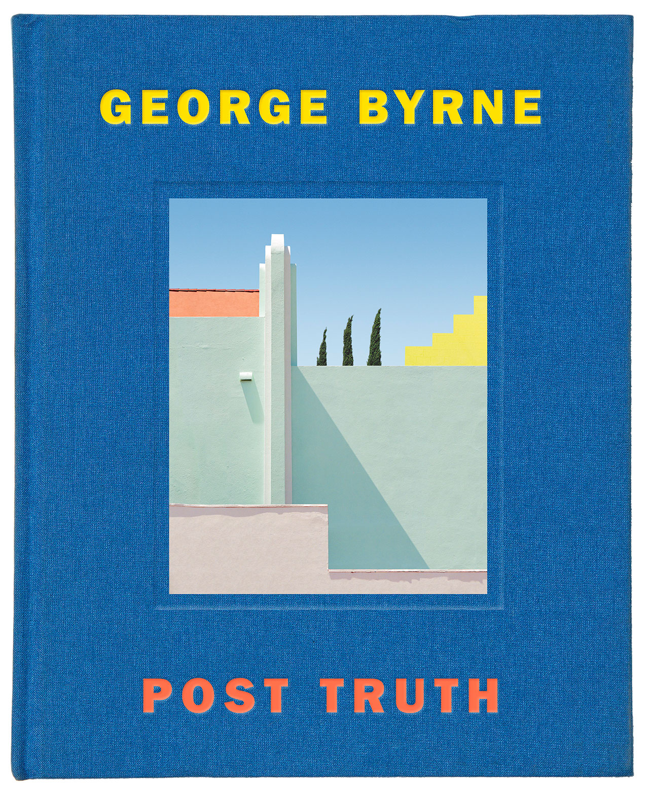 Book cover. Post Truth by George Byrne.
