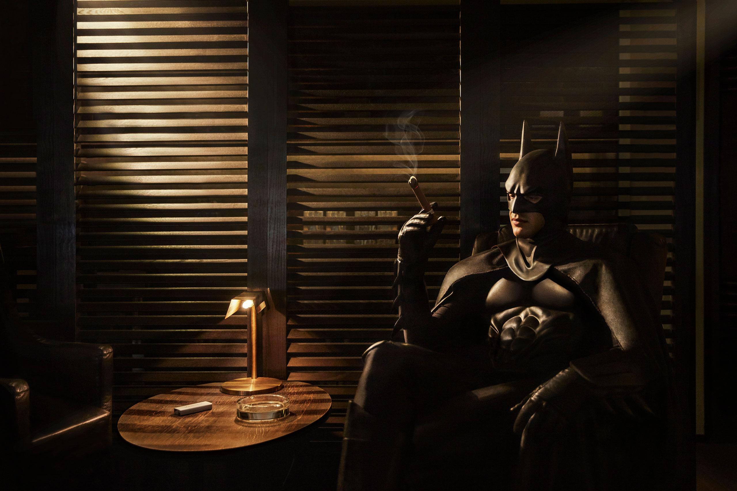 Daily Bat - Cigar Lounge. Photography by Sebastian Magnani.