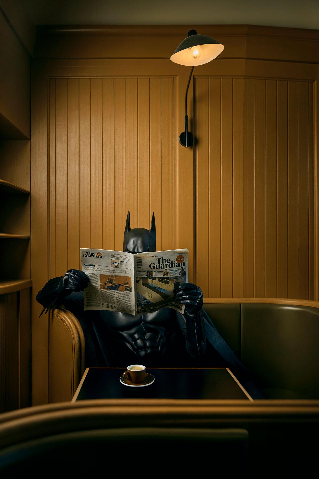 Daily Bat - Coffee and News. Photography by Sebastian Magnani.