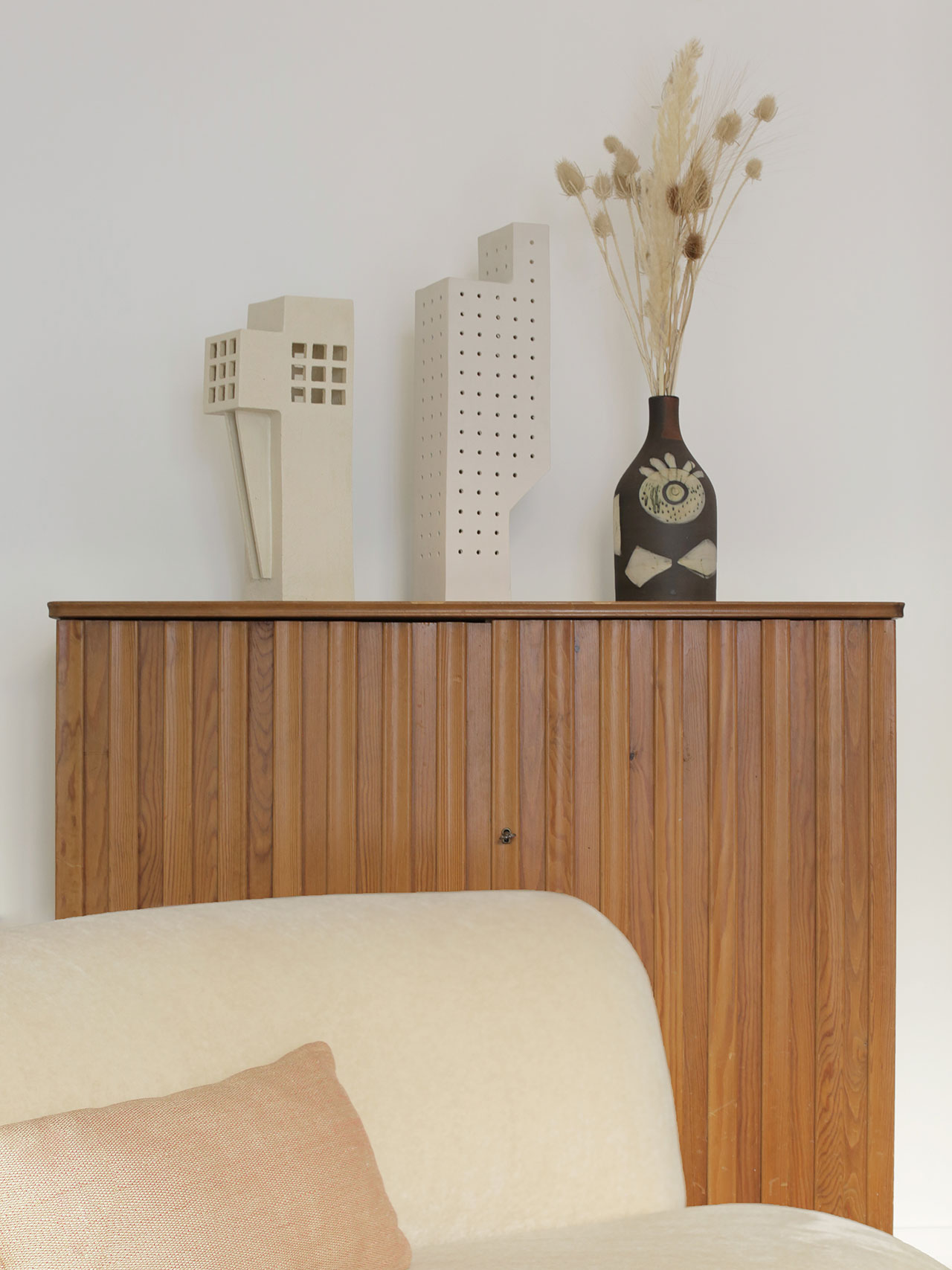 Cabinet in pine by Goran Malmvall (1917–2001), 1950. Photography by Damien de Medeiros.