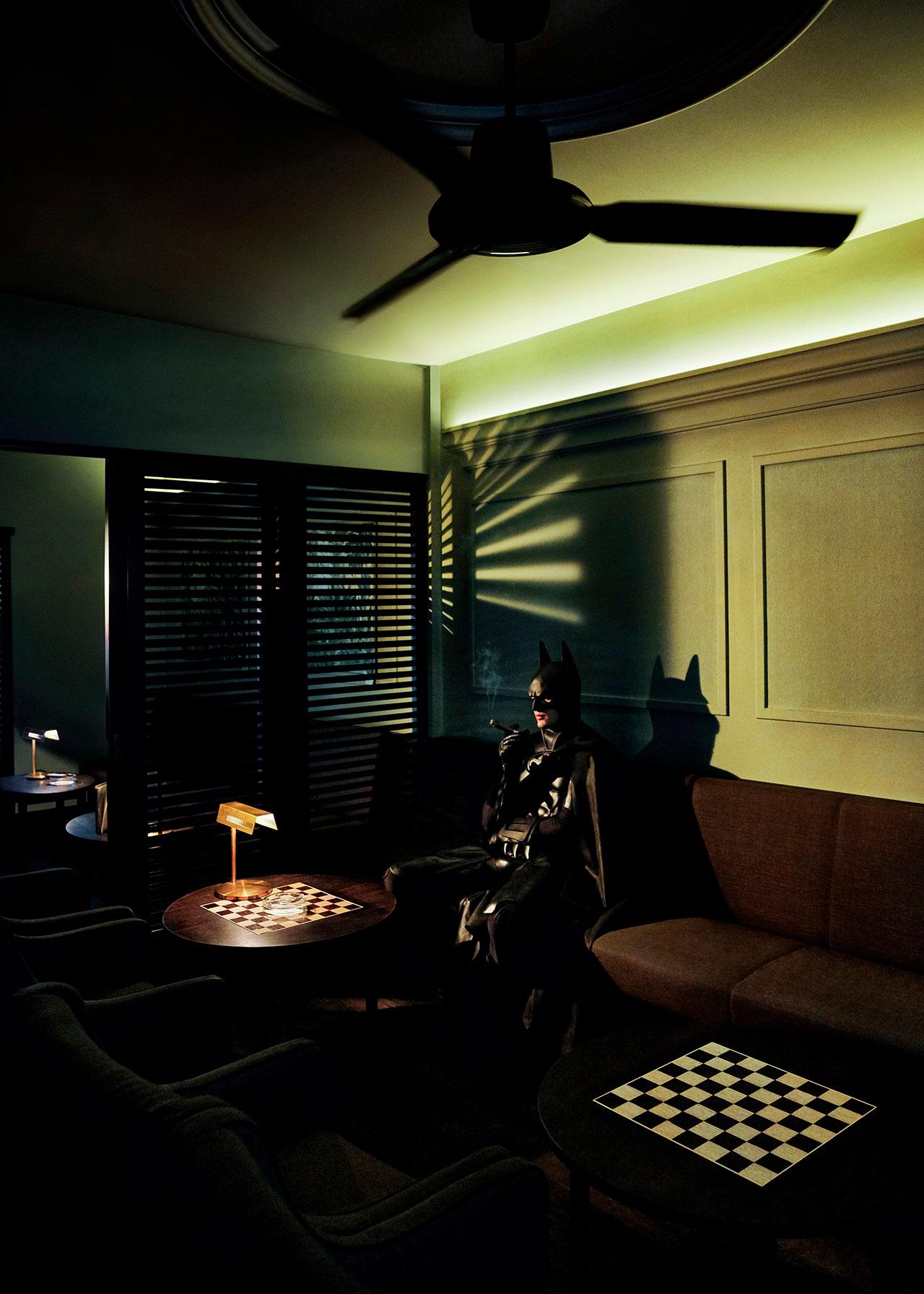 Daily Bat - Cigar and Chess. Photography by Sebastian Magnani.