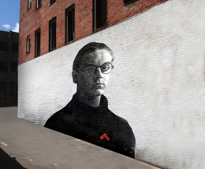 The Dean Portrait / MURAL, photo by Christian Harder.