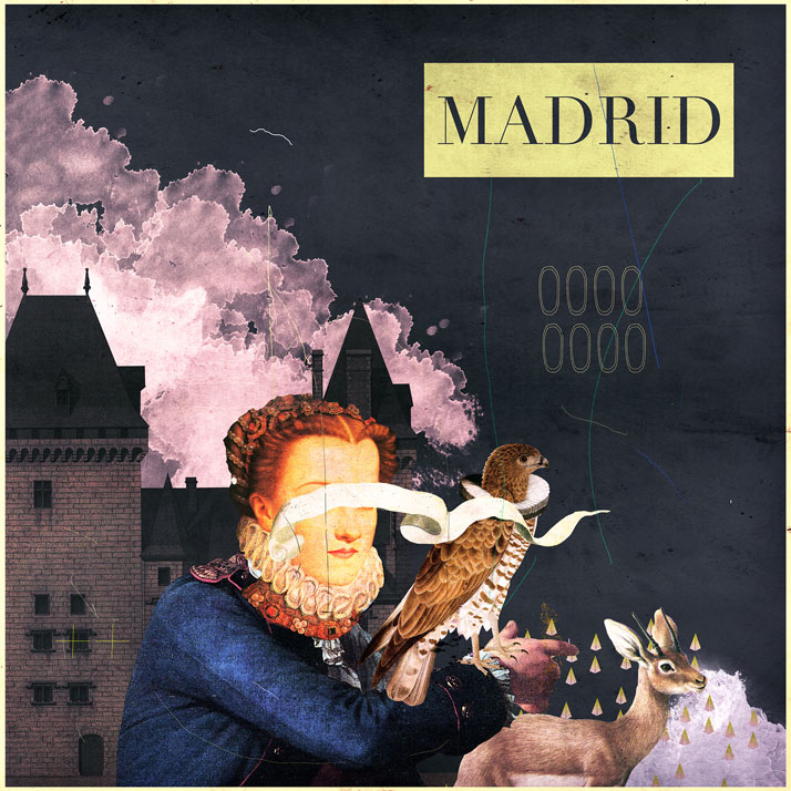 Laurindo Feliciano, Madrid. CD cover art for music band Madrid. Courtesy of the artist.