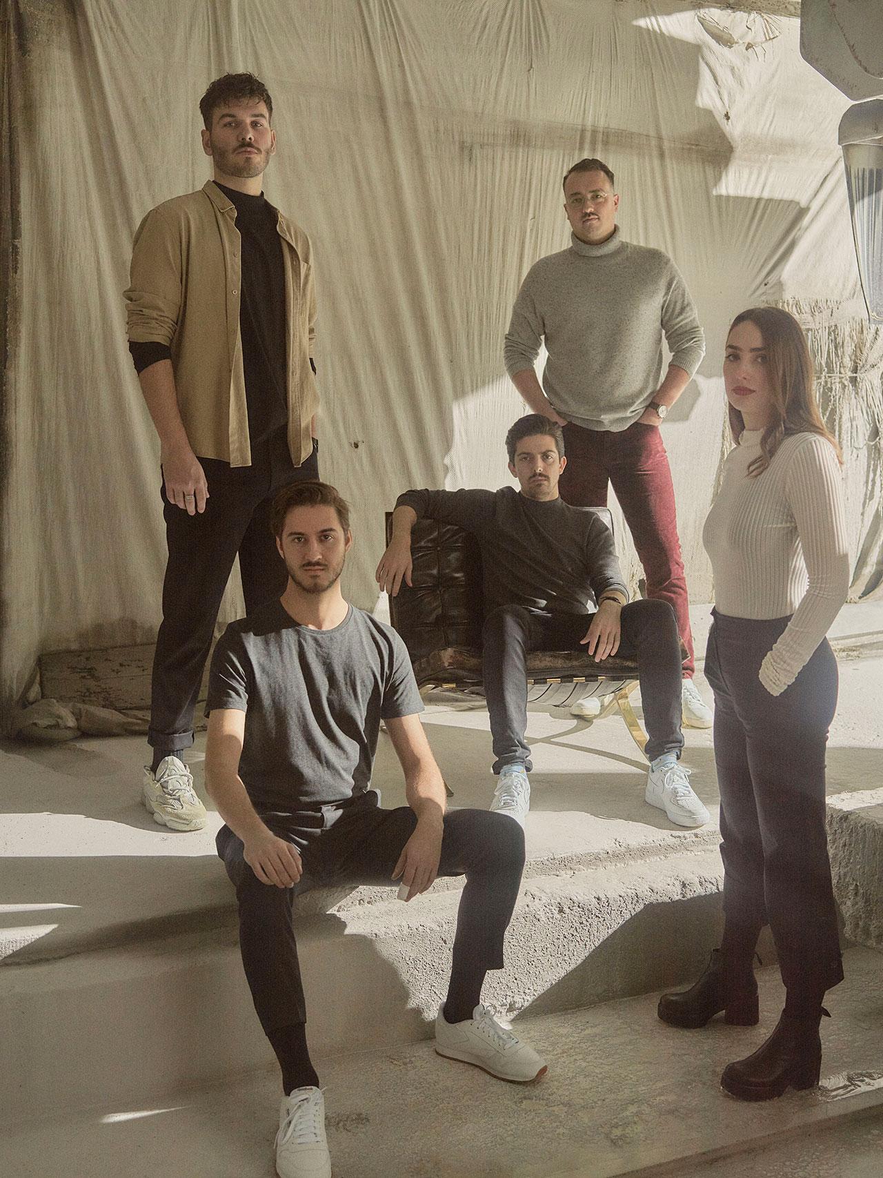 IVY STUDIO team. Photography byMathieu Fortin