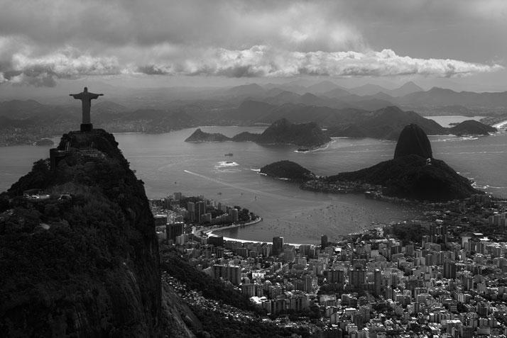 Christ the Redeemer, Rio de Janeiro, 2013. Photo © Olaf Heine.