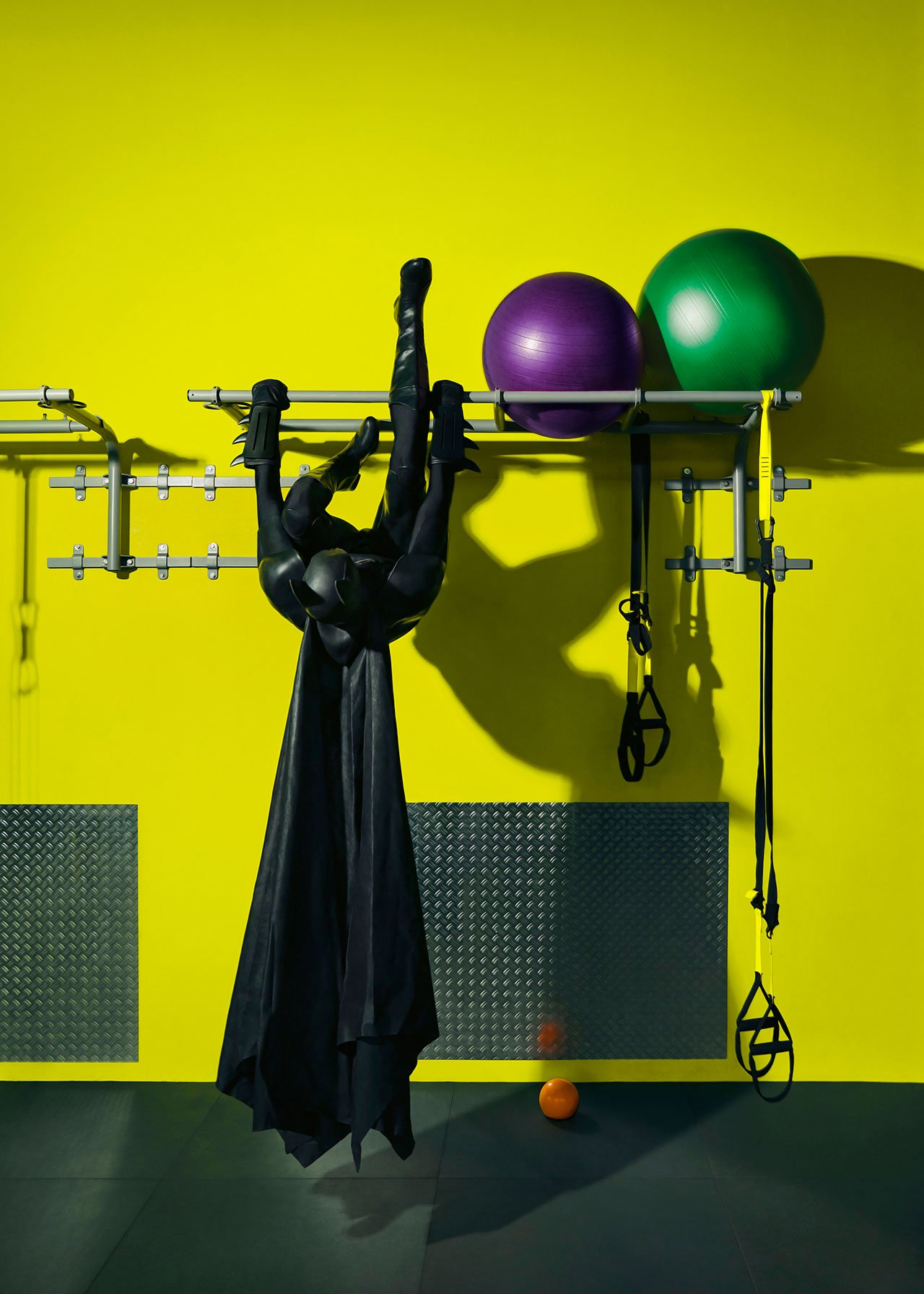 Daily Bat - Gymnastic. Photography by Sebastian Magnani.