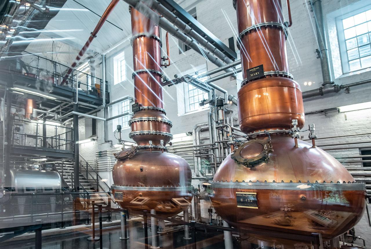 Bombay Sapphire's distillery at Laverstoke Mill. Photoby Elias Joidos © Yatzerland Ltd.