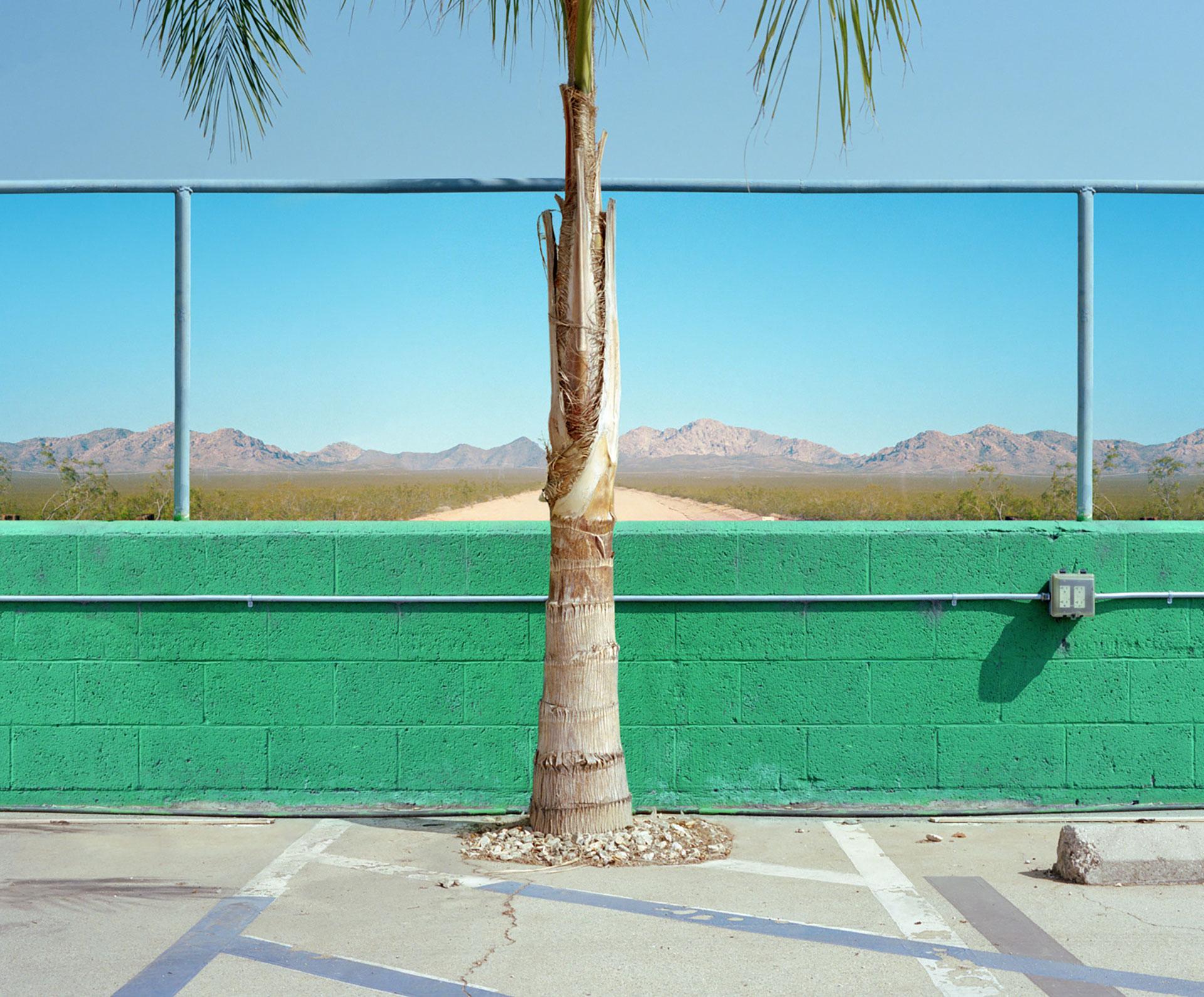 George Byrne Desert Pit Stop, 2018