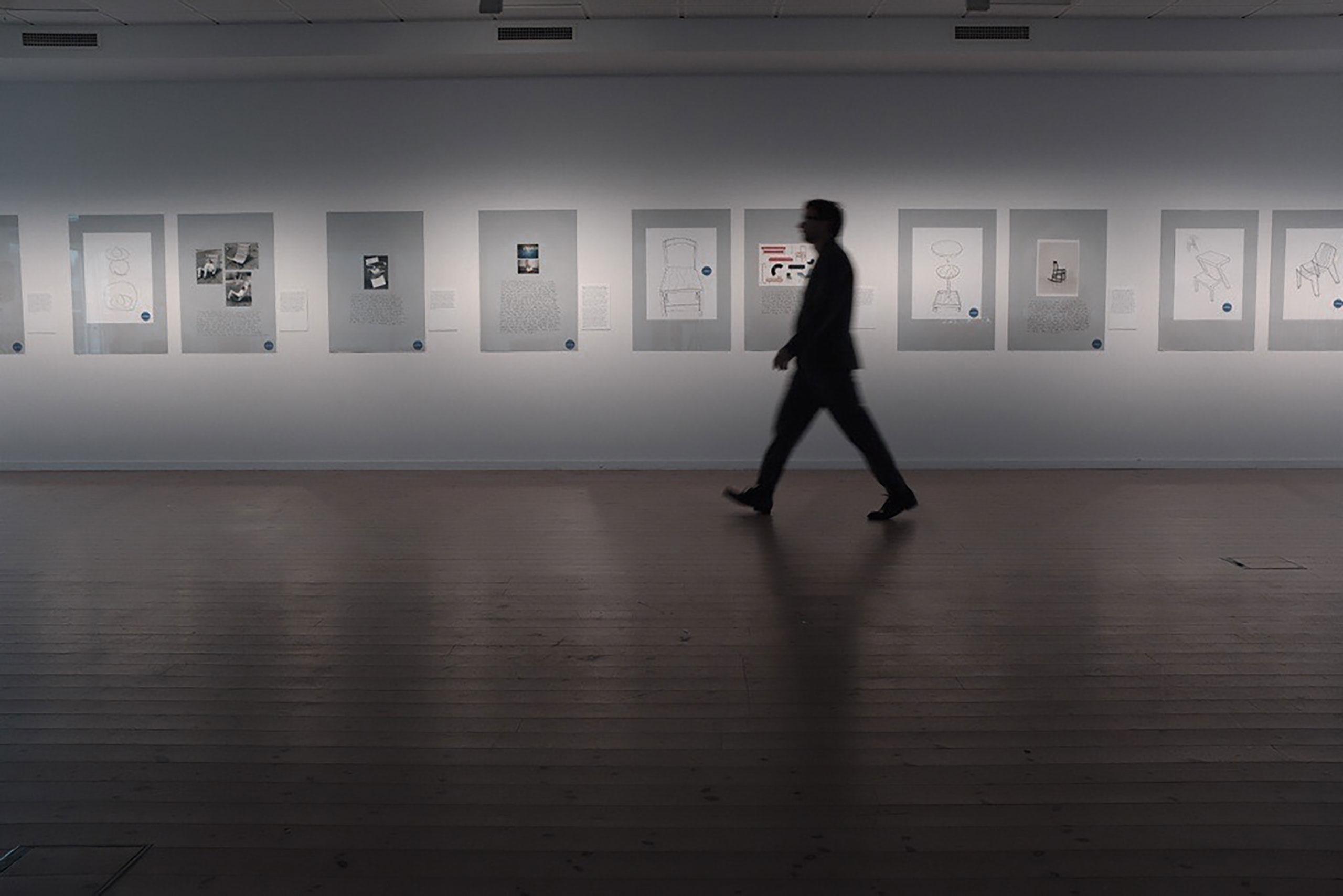 Exhibition view. Chris Martin in Five Designs at Vandalorum Design Museum. Photo:Massproductions