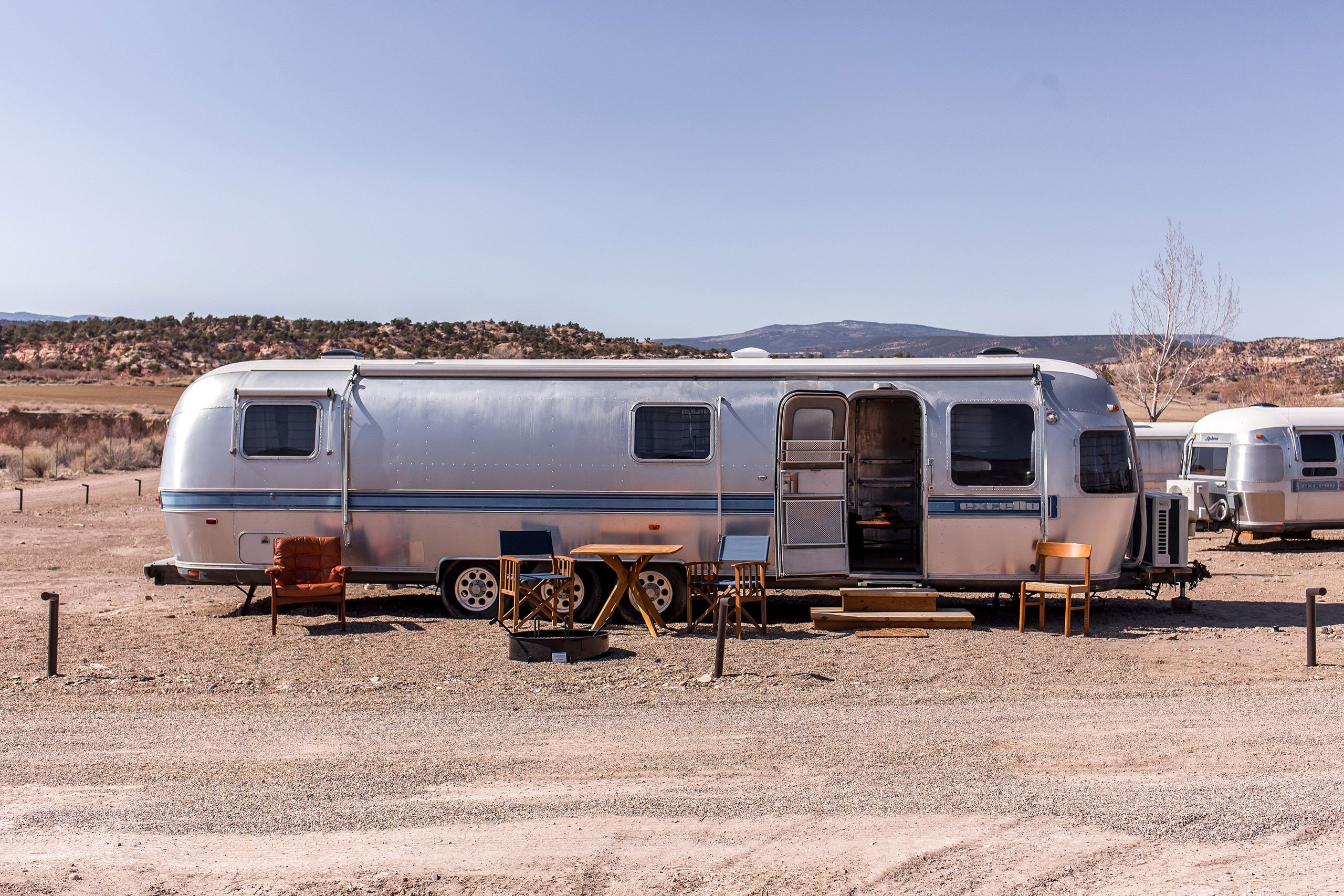 Airstream exterior.Photography by Aleks Danielle Butman.