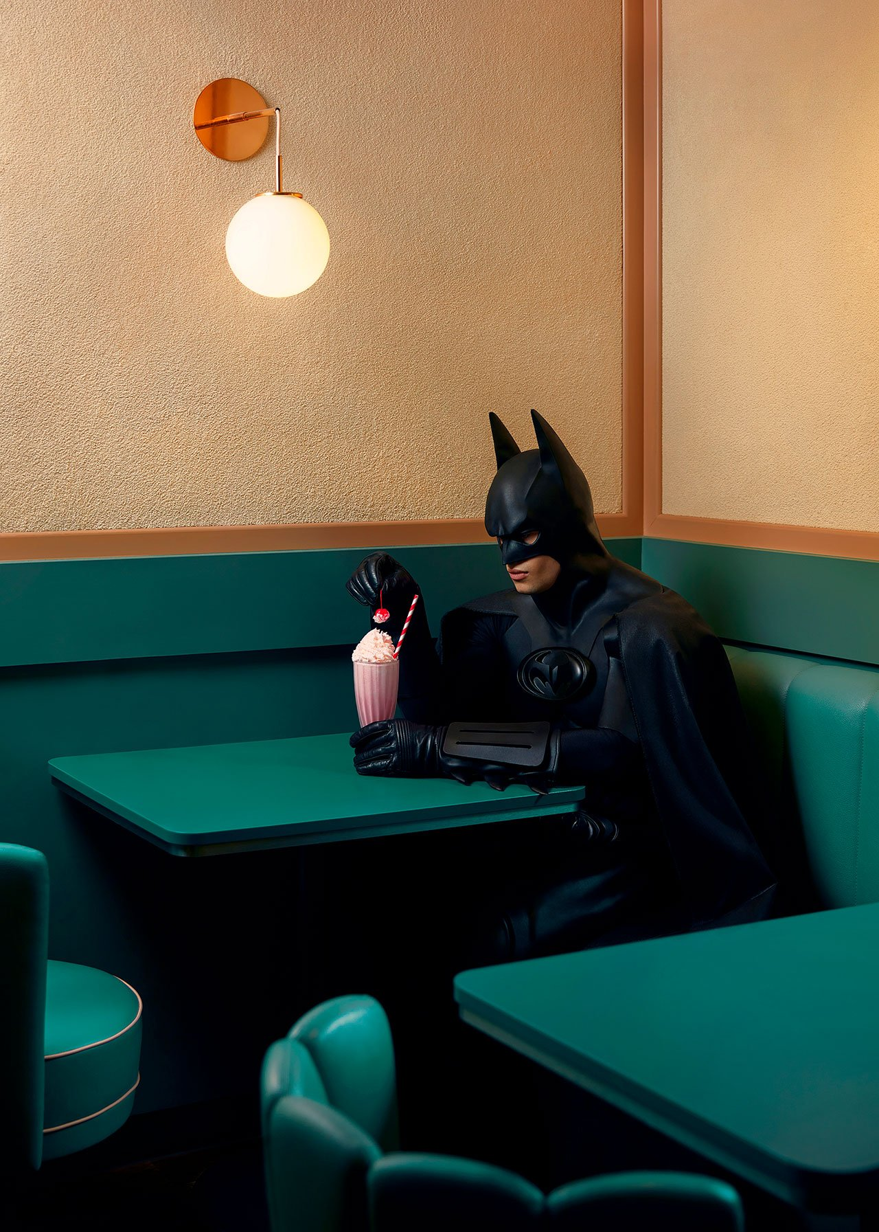 Daily Bat - Stood Up. Photography by Sebastian Magnani.
