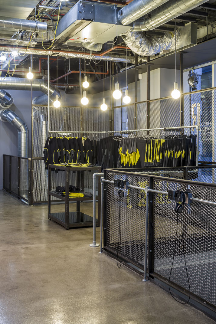 1rebel Boutique Gym In London By Studio C102 Yatzer