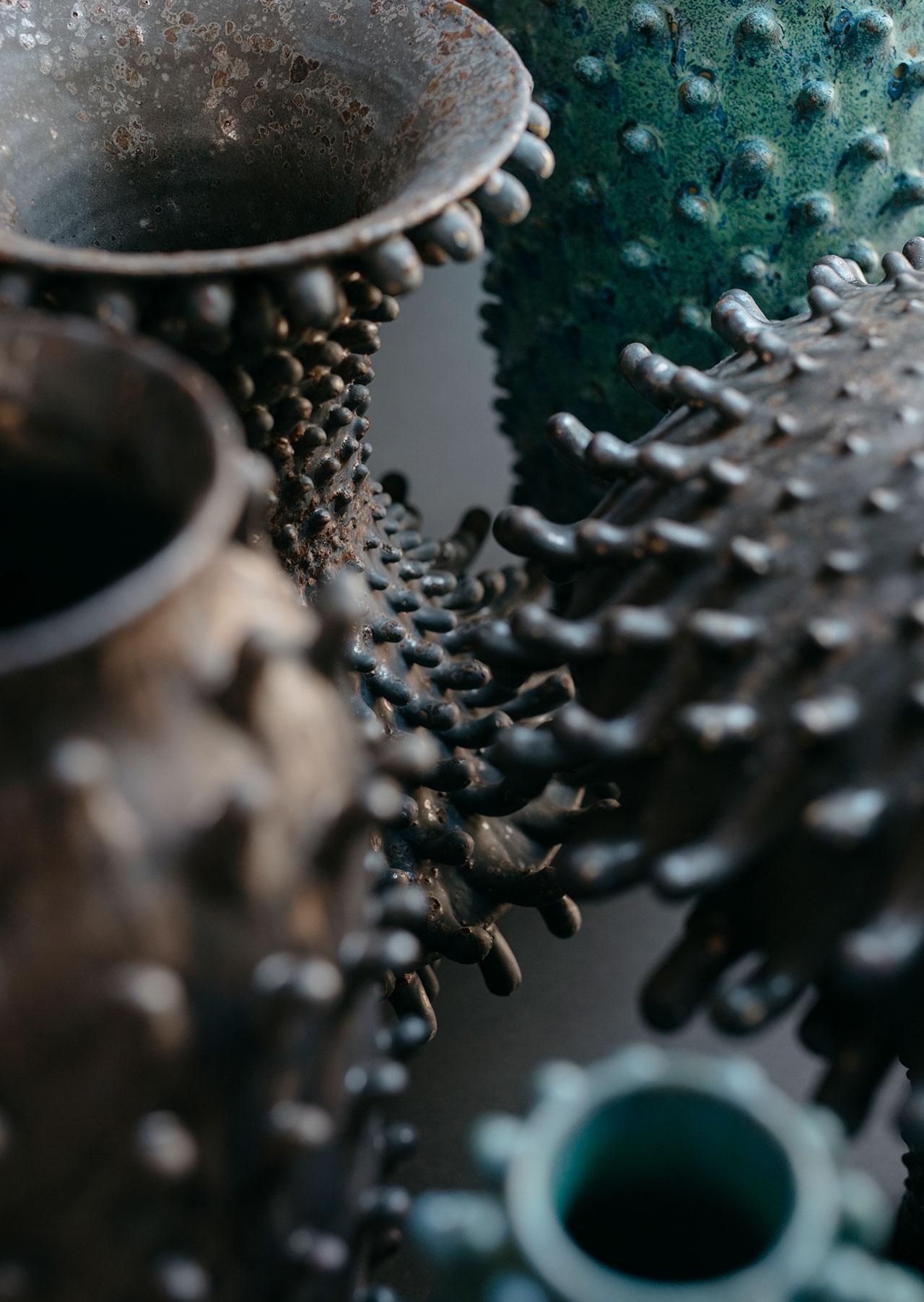 Nicolette Johnson Ceramics (detail).Courtesy of the artist.