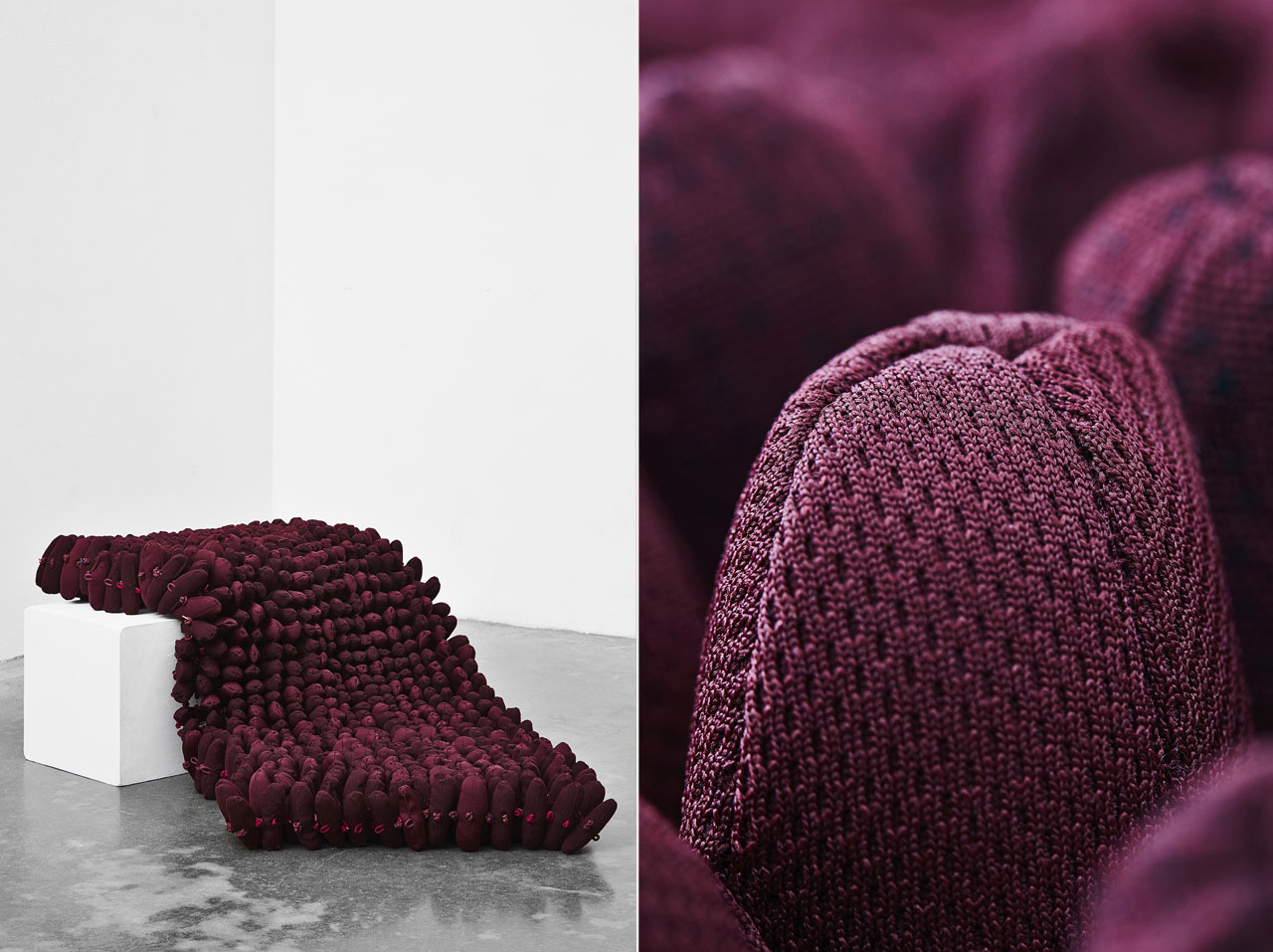 What You Need by Rikke Egebæk part of the FEEL IT exhibition by VIA Designs' 6th semester Furniture students.