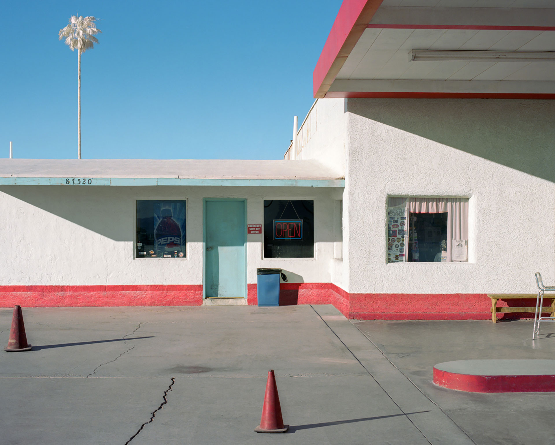 George Byrne Gas Station, Route 66, 2018