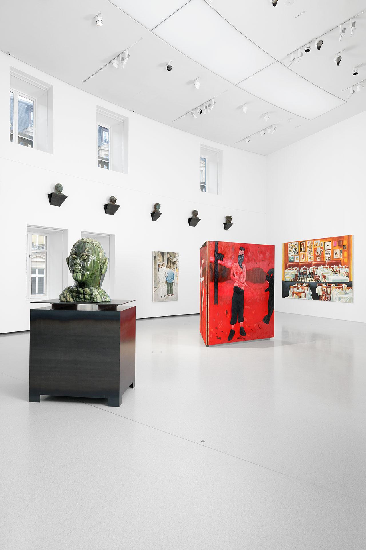 Exhibition views of Ouverture, Bourse de Commerce — Pinault Collection, Paris, 2021. Photo Aurélien Mole