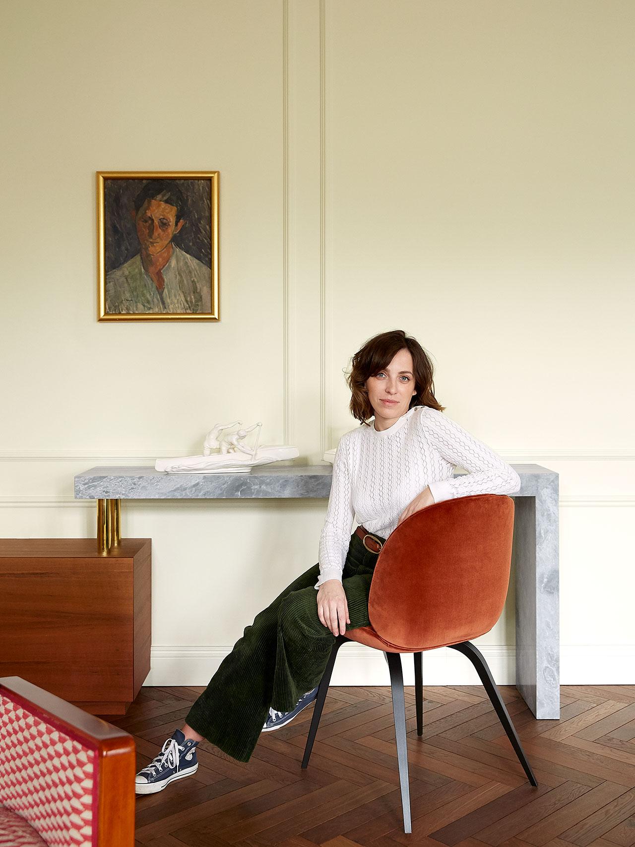 Portrait of Marta Chrapka. Photography by Kasia Gatkowska