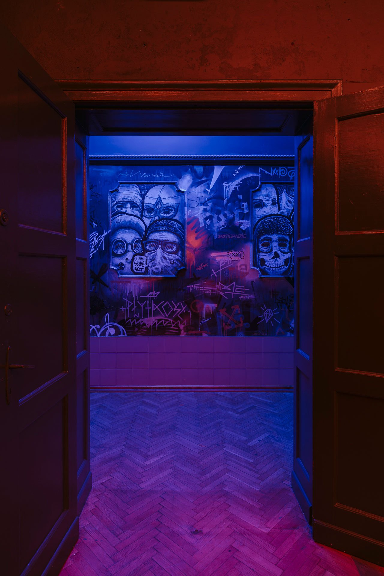 """Próżność(eng. """"Vanity"""")Clubbywiercinski-studio inPoznan, Poland.Photo©PION Studio (Basia Kuligowska, Przemyslaw Nieciecki)."""