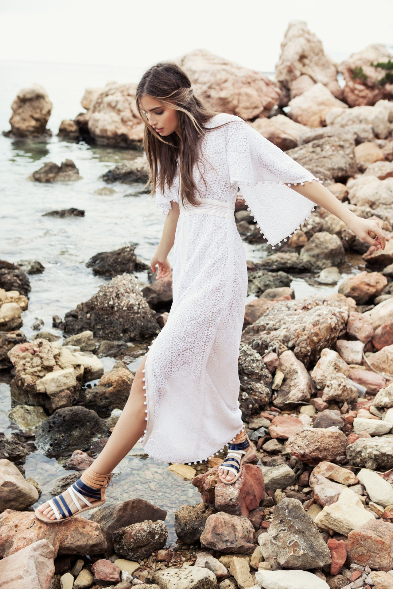 Courtesy of Ancient Greek Sandals.Photo by Yannis Bournias, styling by Manos Jojos.
