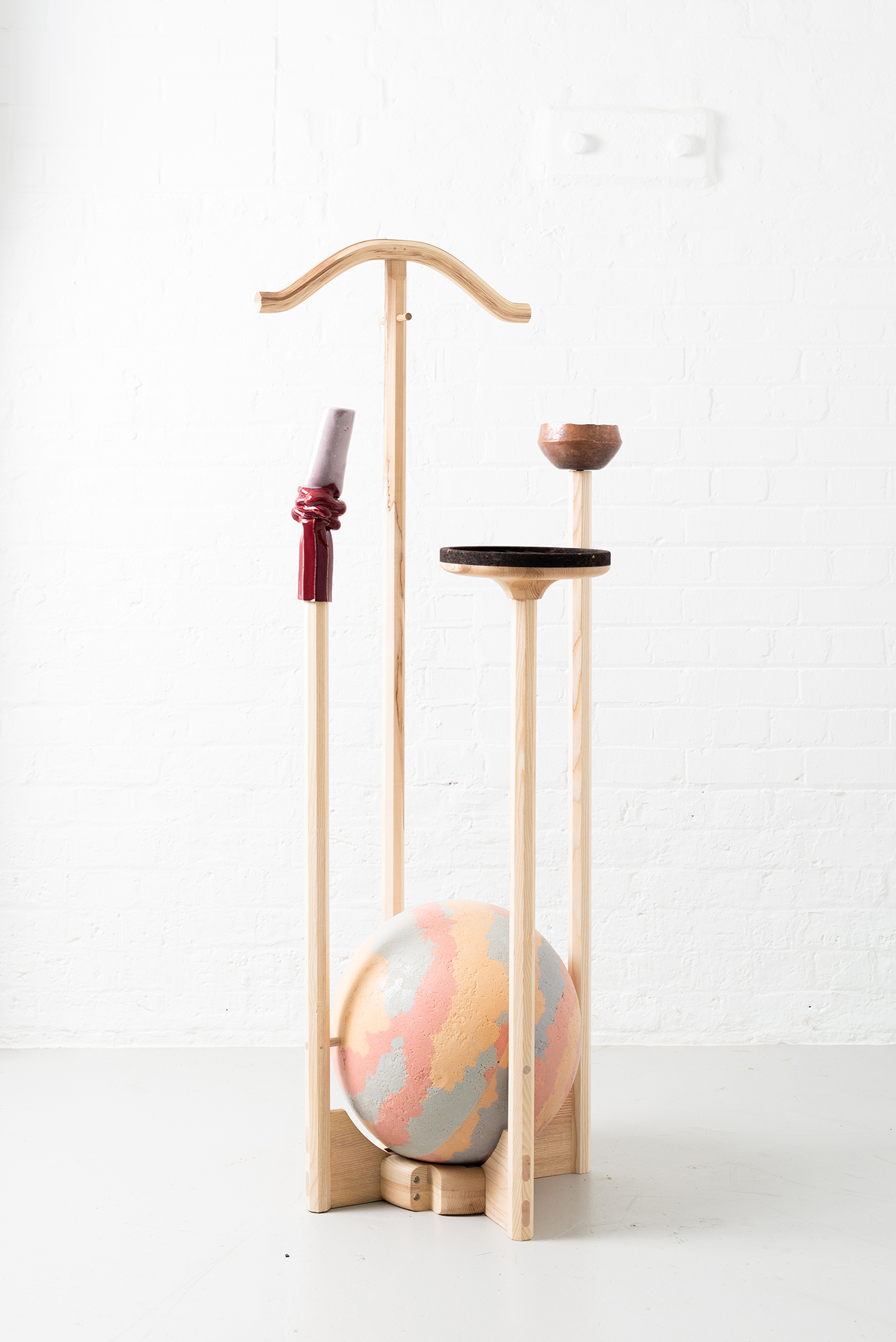 Valet Stand by Jan Hendzel Studio. Photo by Fergus Coyle.