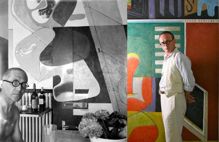 Vincent Perez (as Le Corbusier).  The Price Of Desire (2014).