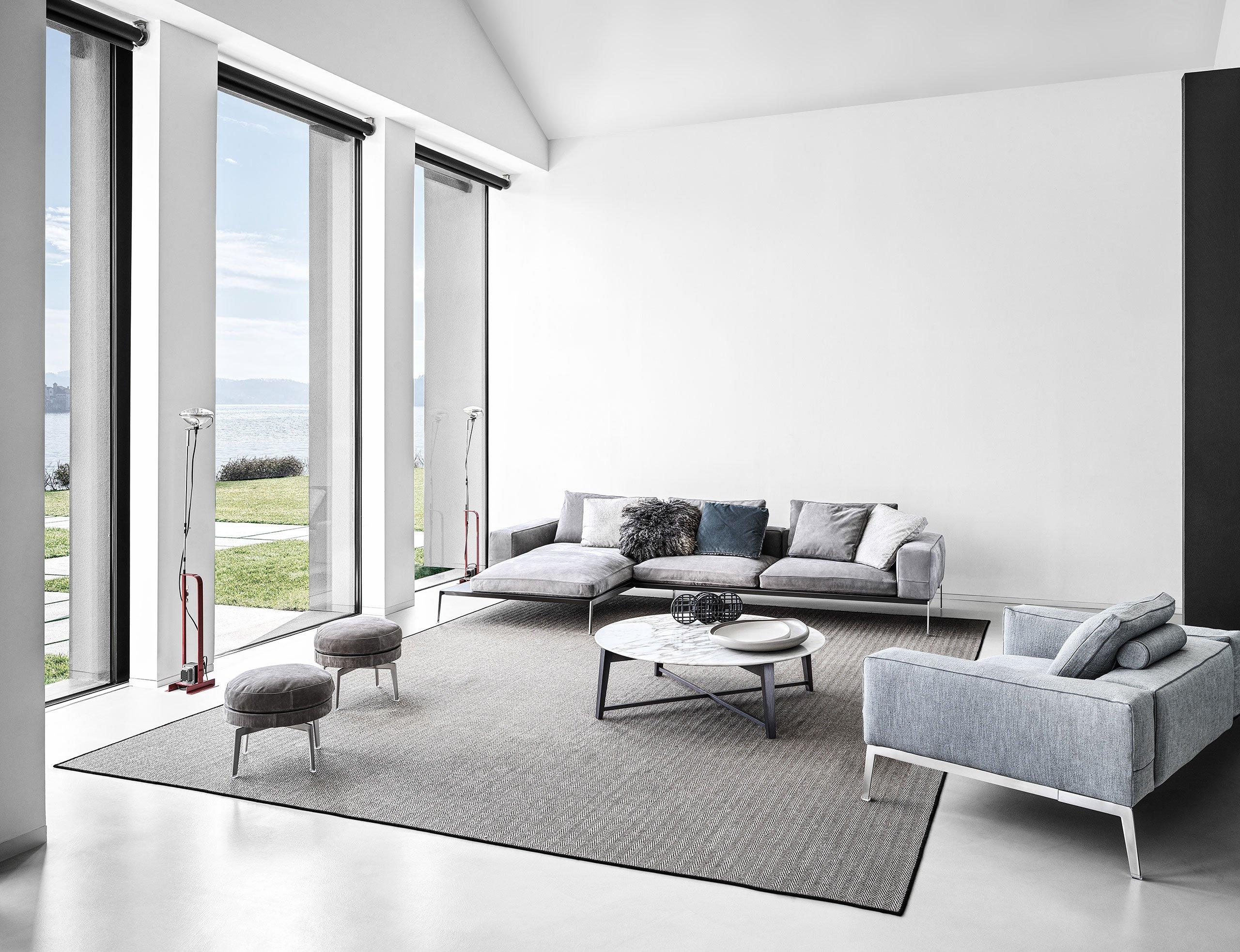 Lifesteel sofa by Antonio Citterio for Flexform. Photo© Flexform.