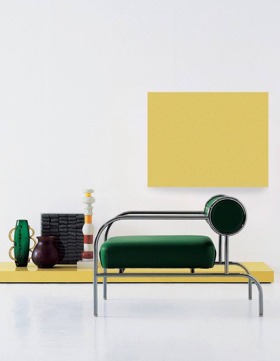 Sofa with Arms (1982) by Shiro Kuramata for Cappellini. Photo © Cappellini.