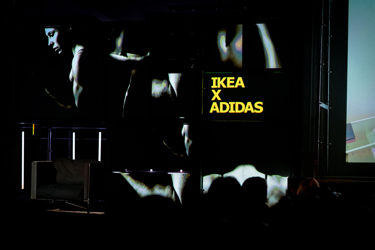 IKEA x adidas collabopration announcement during the Ikea Democratic Days 2018.Photo by Elias Joidos, Älmhult, Sweden.