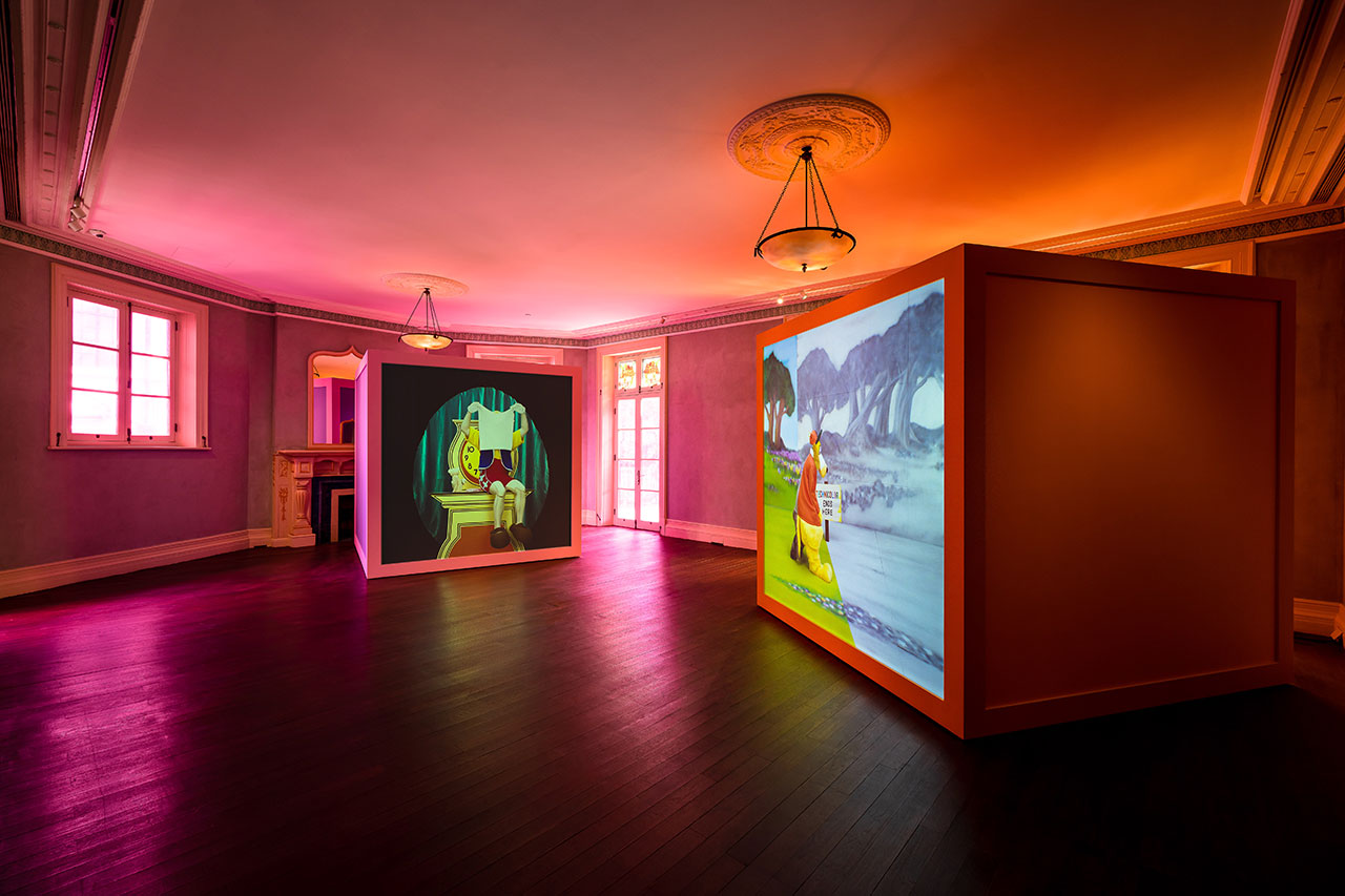 "Exhibition view of ""Rubber Pencil Devil"" by Alex Da Corte Prada Rong Zhai13 November 2020 - 17 January 2021Photo: Alessandro Wang Courtesy Prada"