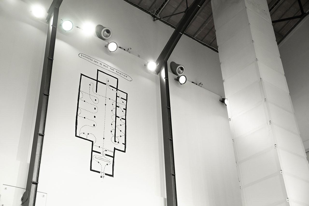 Aldo Giannotti, Safe and Sound, installation view, MAMbo – Museo d'Arte Moderna di Bologna. Photography by Valentina Cafarotti and Federico Landi.