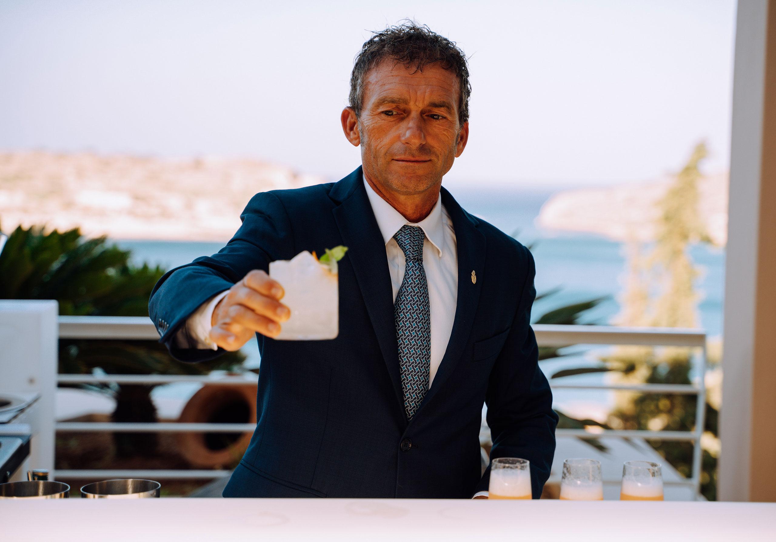 Gritti Palace'sBar Manager, Cristiano Luciani© PHĀEA Resorts.
