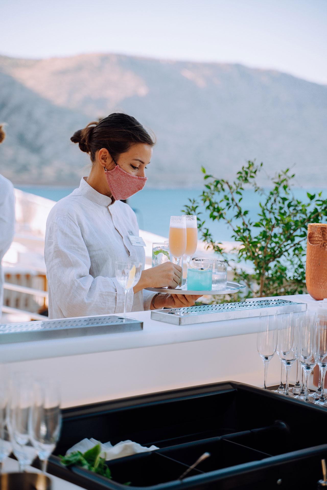 Blue Aperitivo© PHĀEA Resorts.