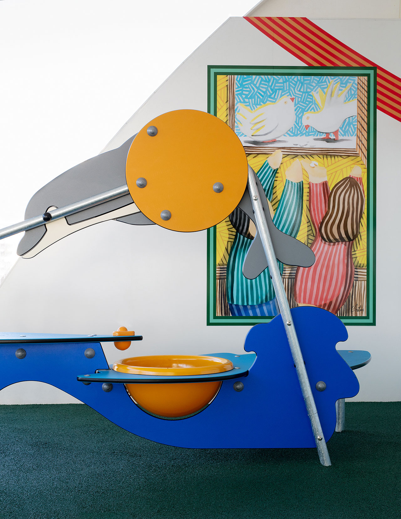 Sundeck - Playground. Art byJavier Ortas.Photography by Klunderbie.