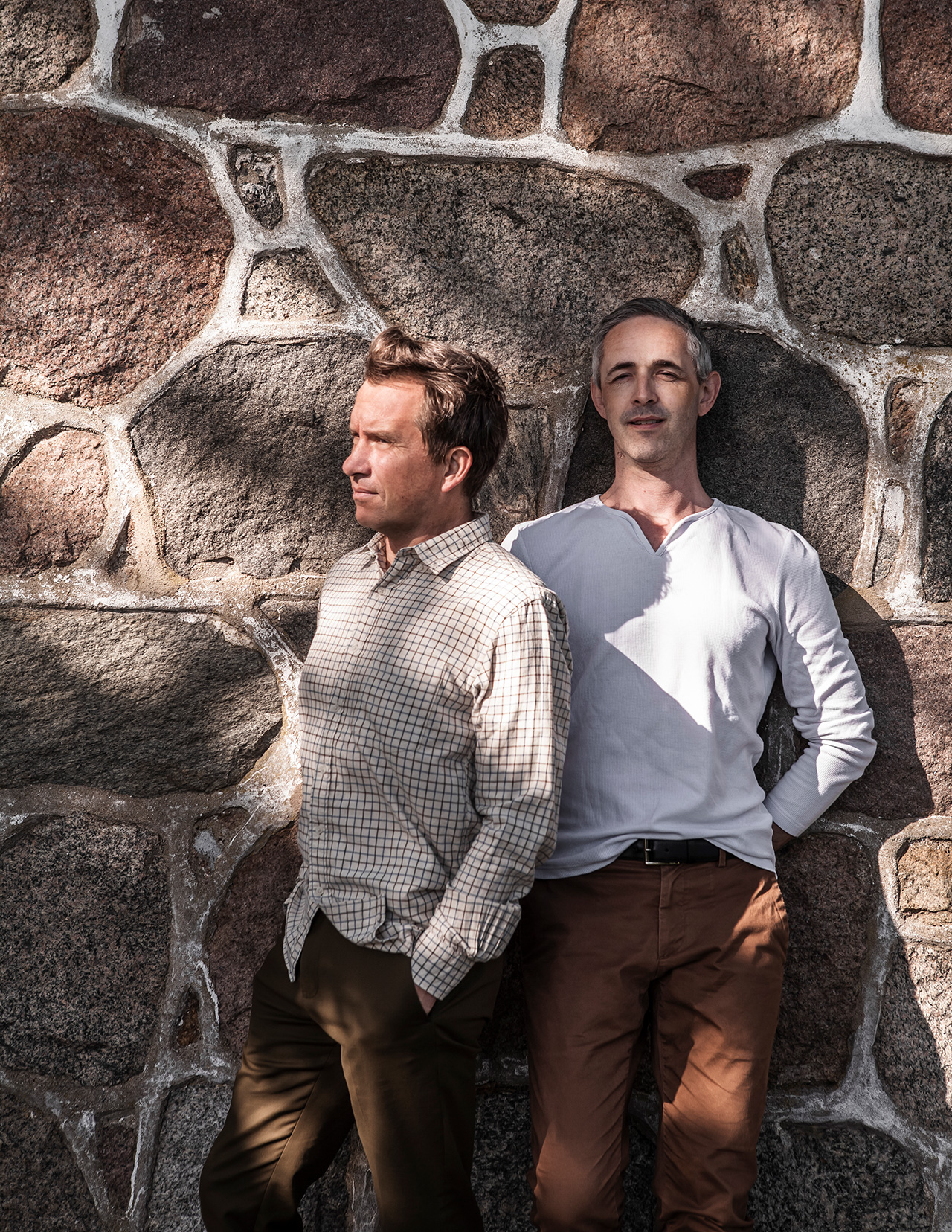 TypeO founders, Micha van Dinther(right) and Magnus Wittbjer. Photography by Mike Karlsson Lundgren.