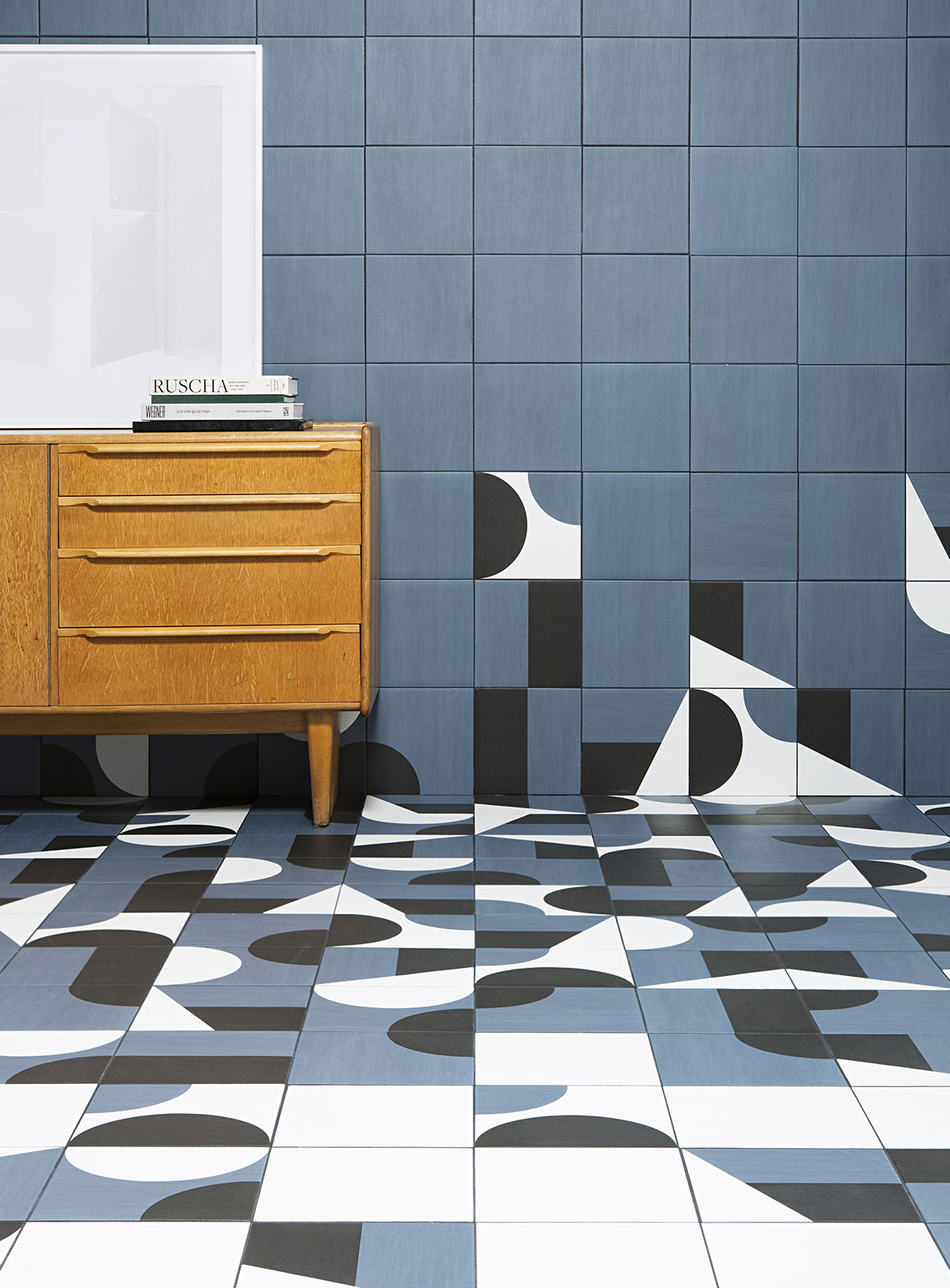Barber & Osgerby's Puzzle tiles for Mutina.