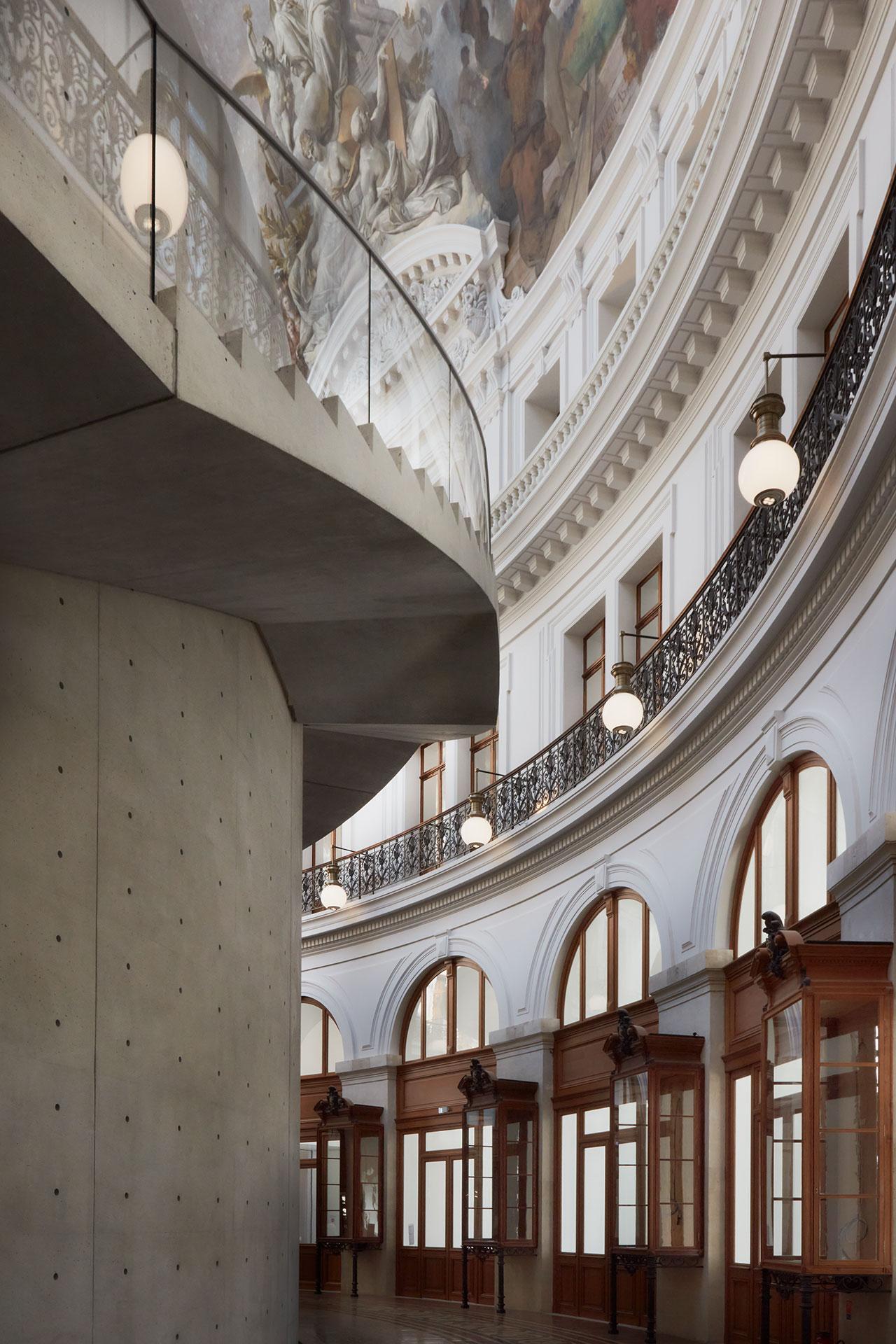 Bourse de Commerce — Pinault Collection © Tadao Ando Architect & Associates, Niney et Marca Architectes, Agence Pierre-Antoine Gatier. Photography byMaxime Tétard.