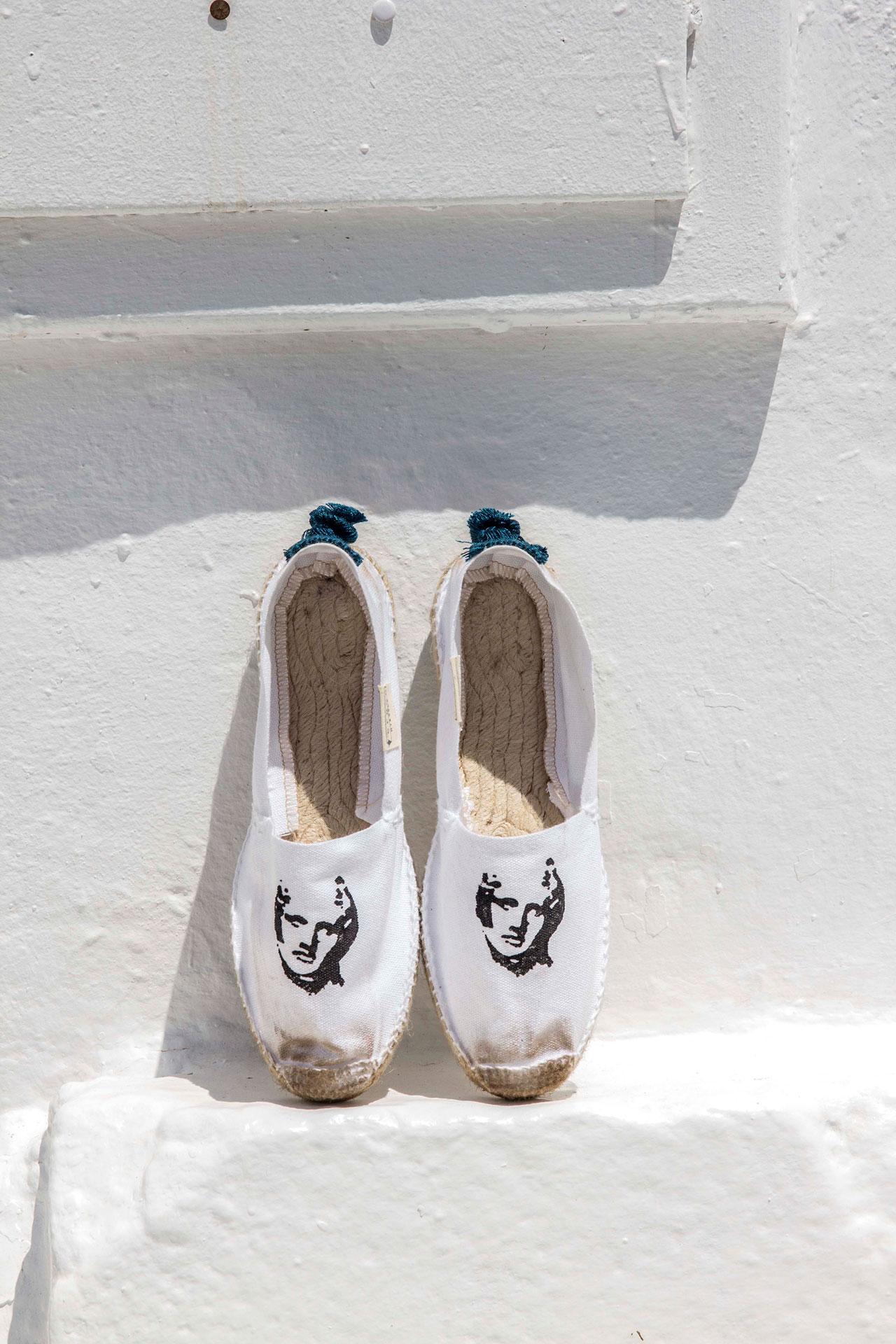 ERGON MYKONOS SS16 Footwear CollectionArt direction: George PavlakisPhotographer: Kwnstantinos MalekakisMake up artist & Hair: Elena PsomaModels: Antigoni Tantsi & Theresa (d.models)