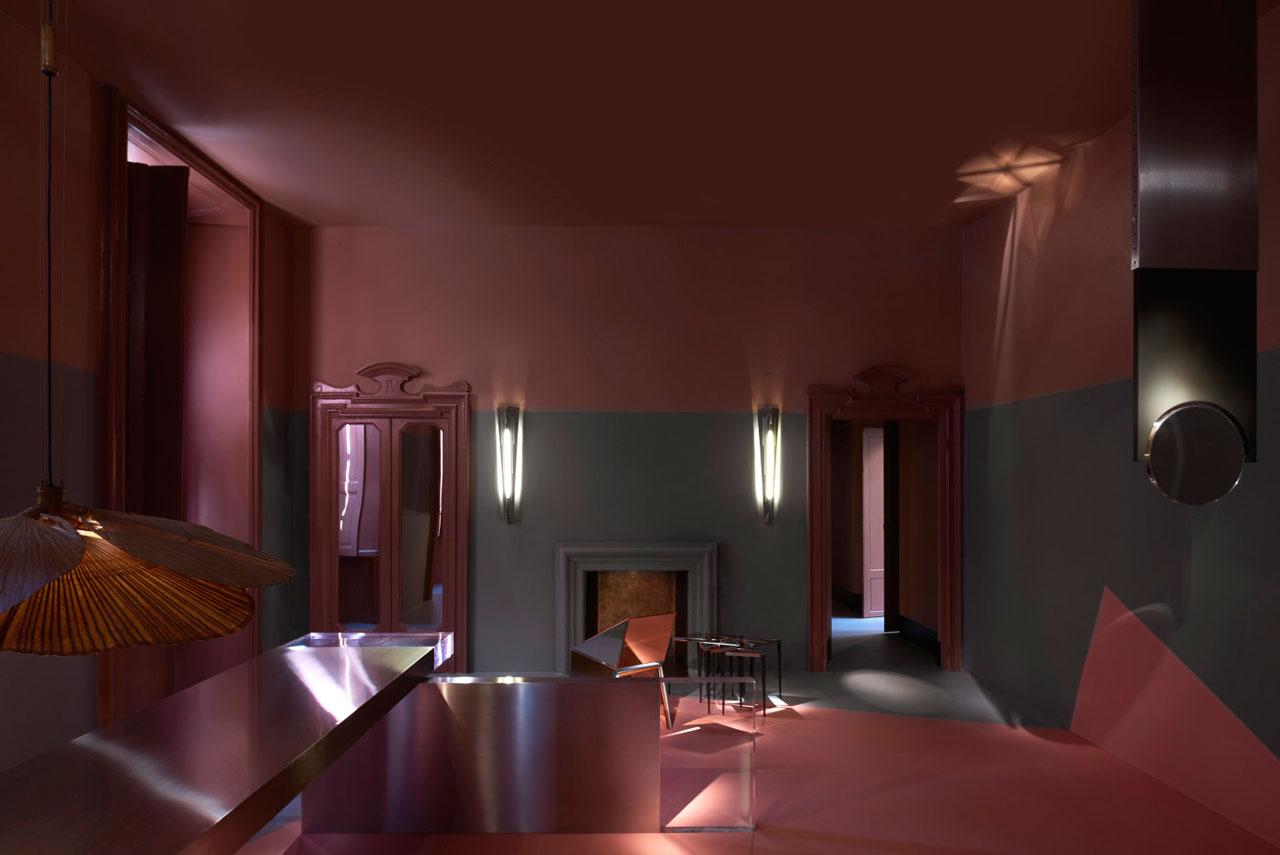 Exhibition space of DIMORESTUDIO on via Solferiino