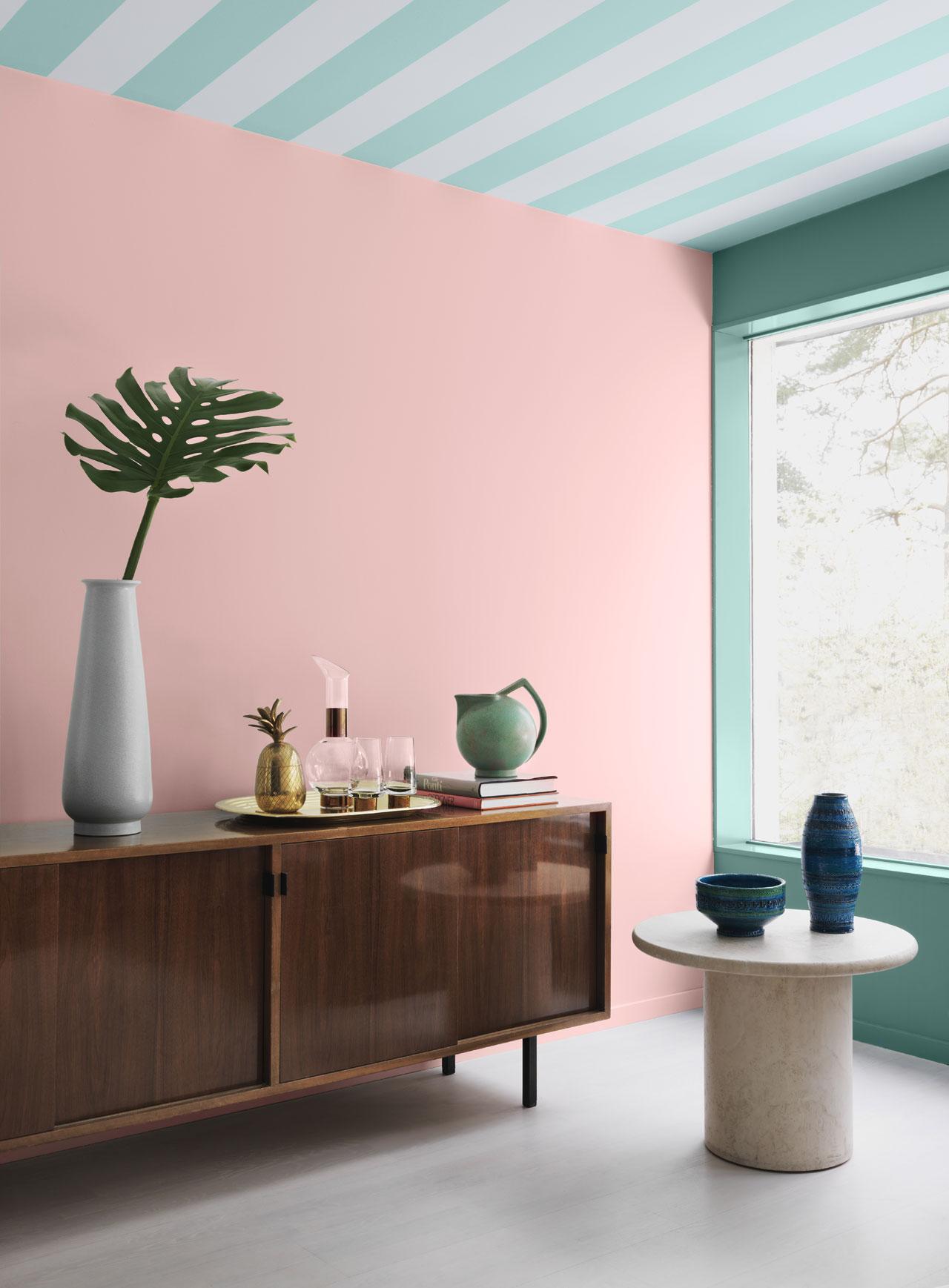 Miami Déco color paint seriesby Alcro.