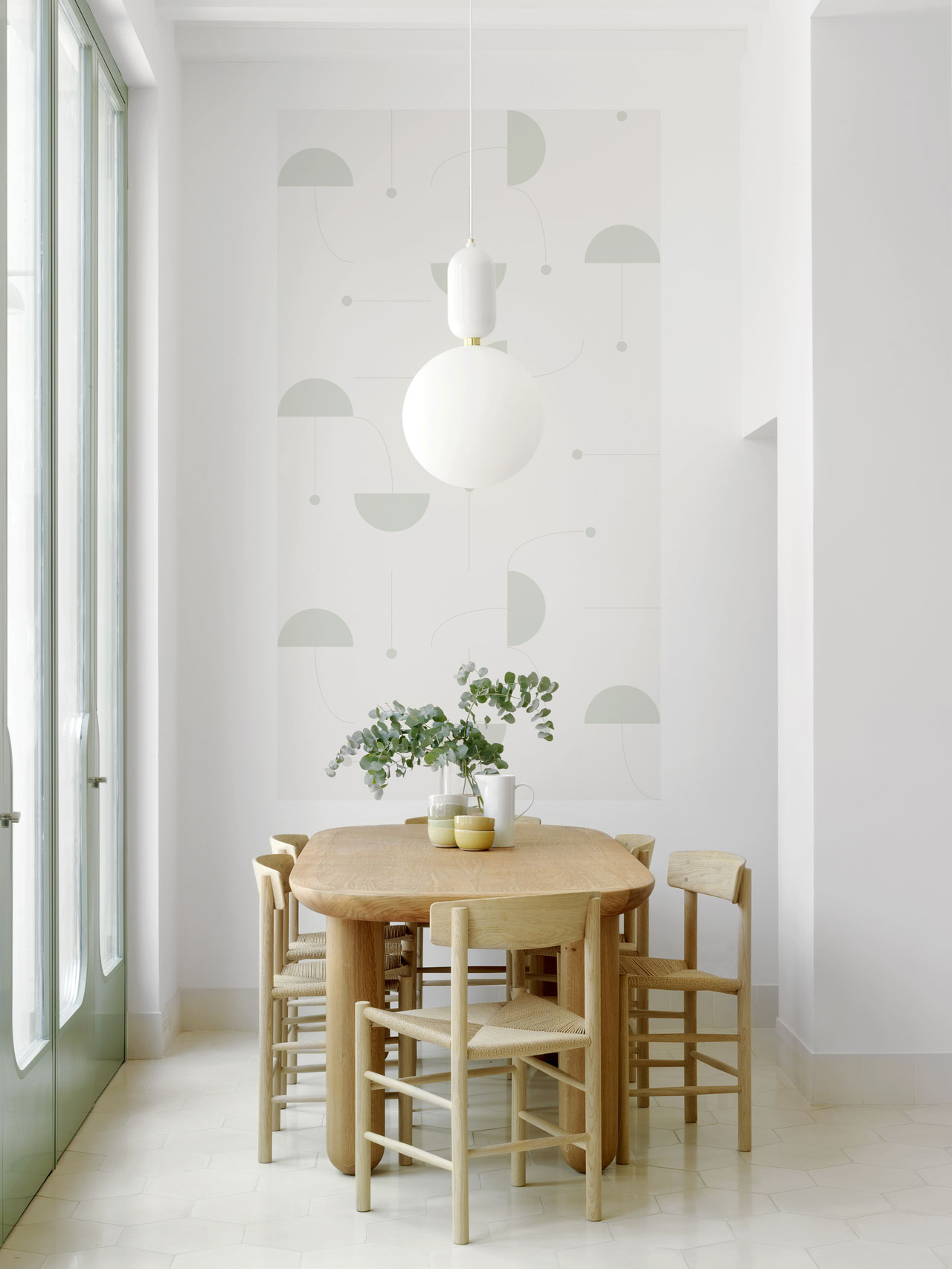 The latest collection from Eco Wallpaper features patterns created by the Spanish designer Jaime Hayon.