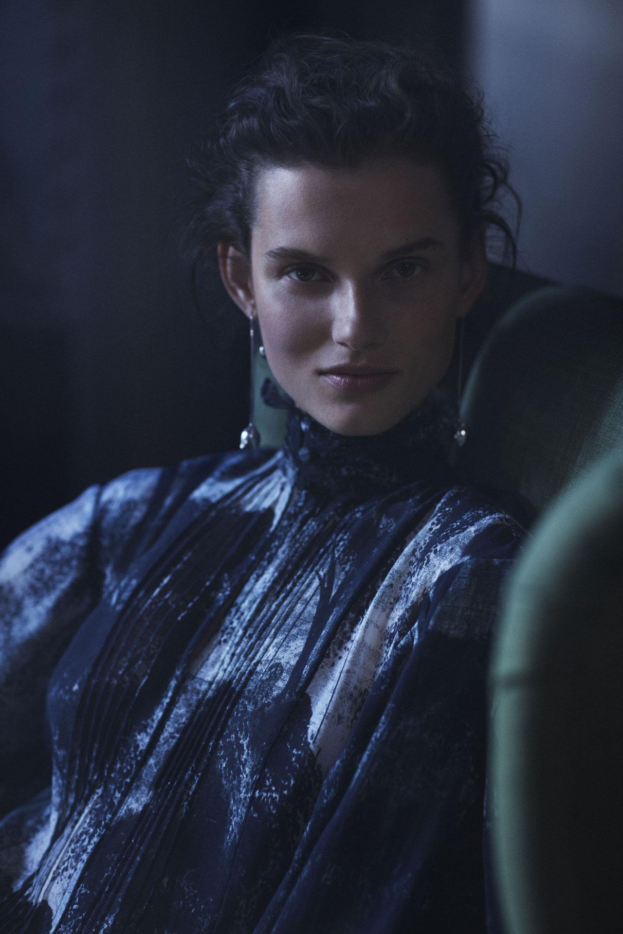 Giedrė Dukauskaitė.H&M Conscious Exclusive 2018 campaign.Photo by Mikael Jansson © H&M.