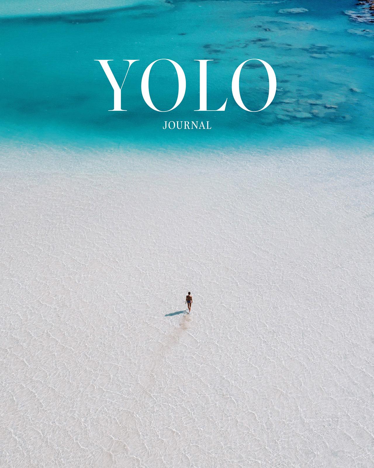 Balos Beach, Crete by Costas Spathis.© YOLO Journal No4. Summer 2020.