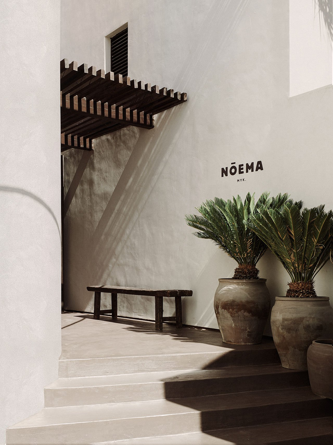 Photography Robert Rieger © Nõema Mykonos.Interior Styling Lambs and Lions Studio in collaboration with Amy Wenden.