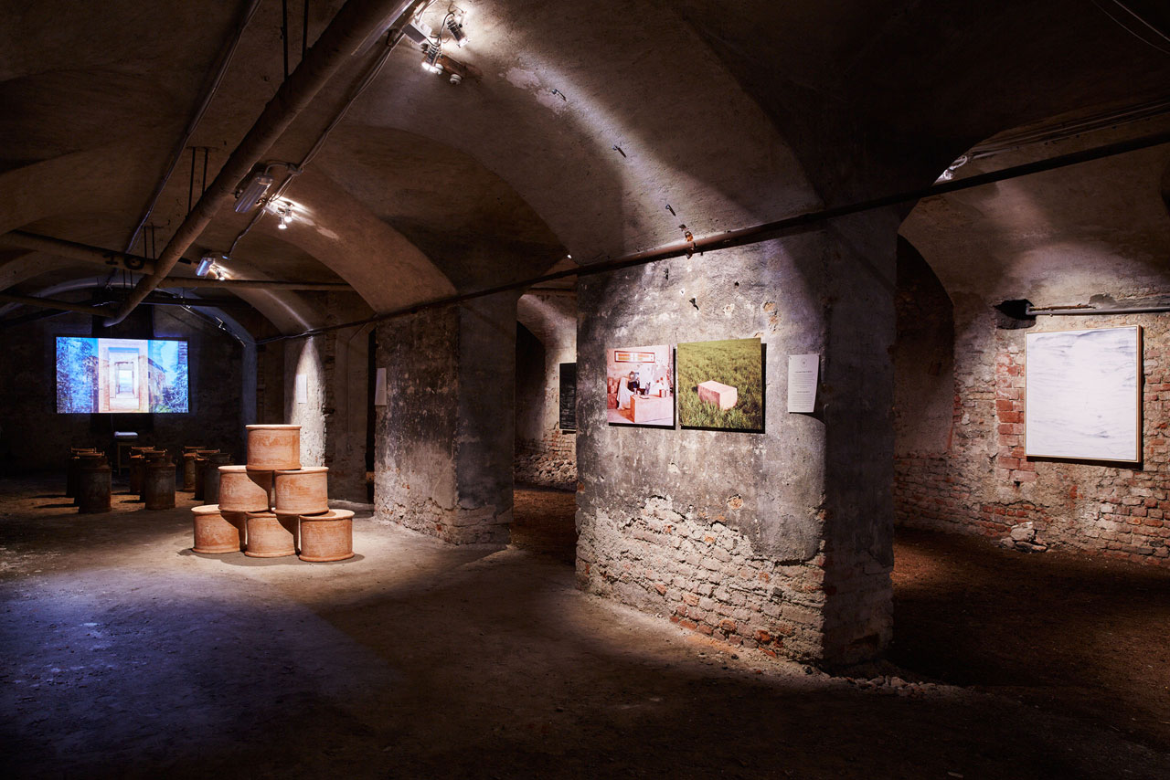 The Shit Museum at the Storica Società di Incoraggiamento Arti & Mestieri (Historical Society for the Encouragement of Arts and Crafts)  in Via Santa Marta. Photo © Henrik Blomqvist.
