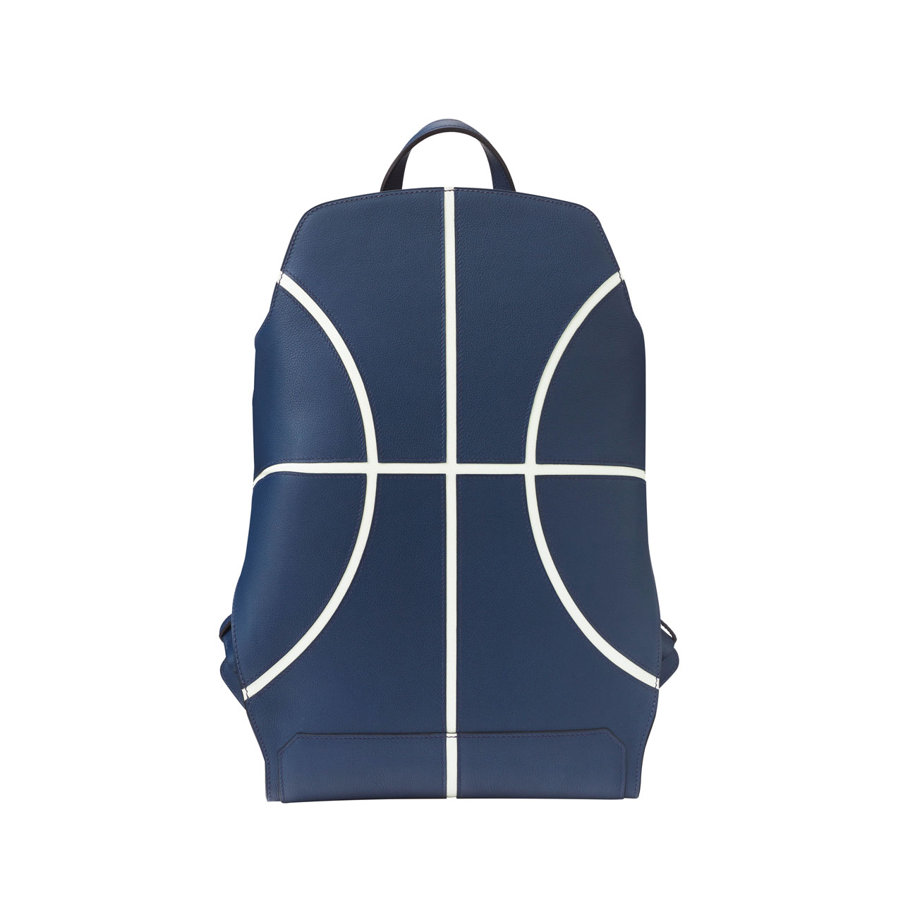 Cityback basketball backpack in Evercolor calfskin, Hermès SS18. Photo © Hermès.