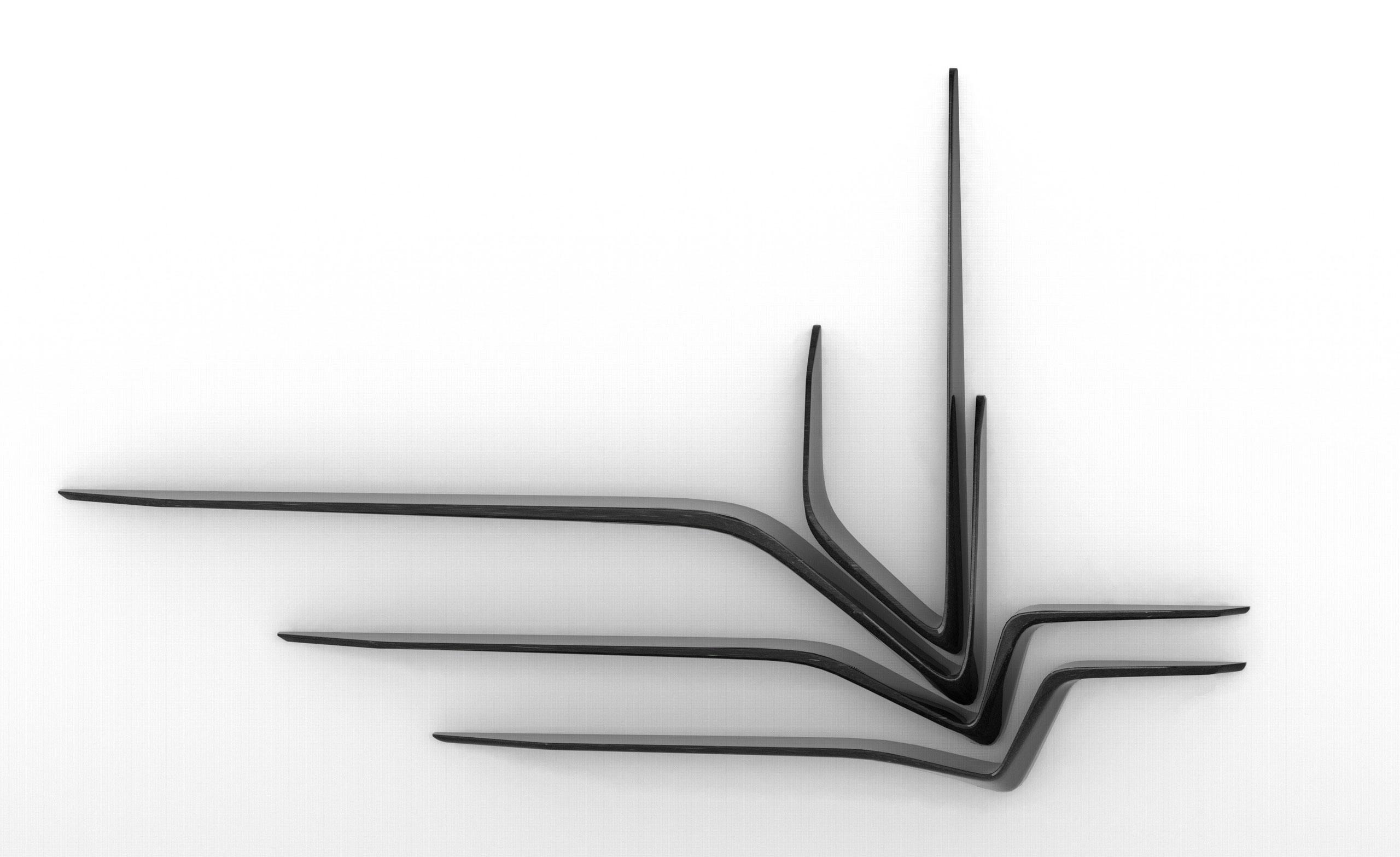 Shelving system by Zaha Hadid Architects for CITCO.
