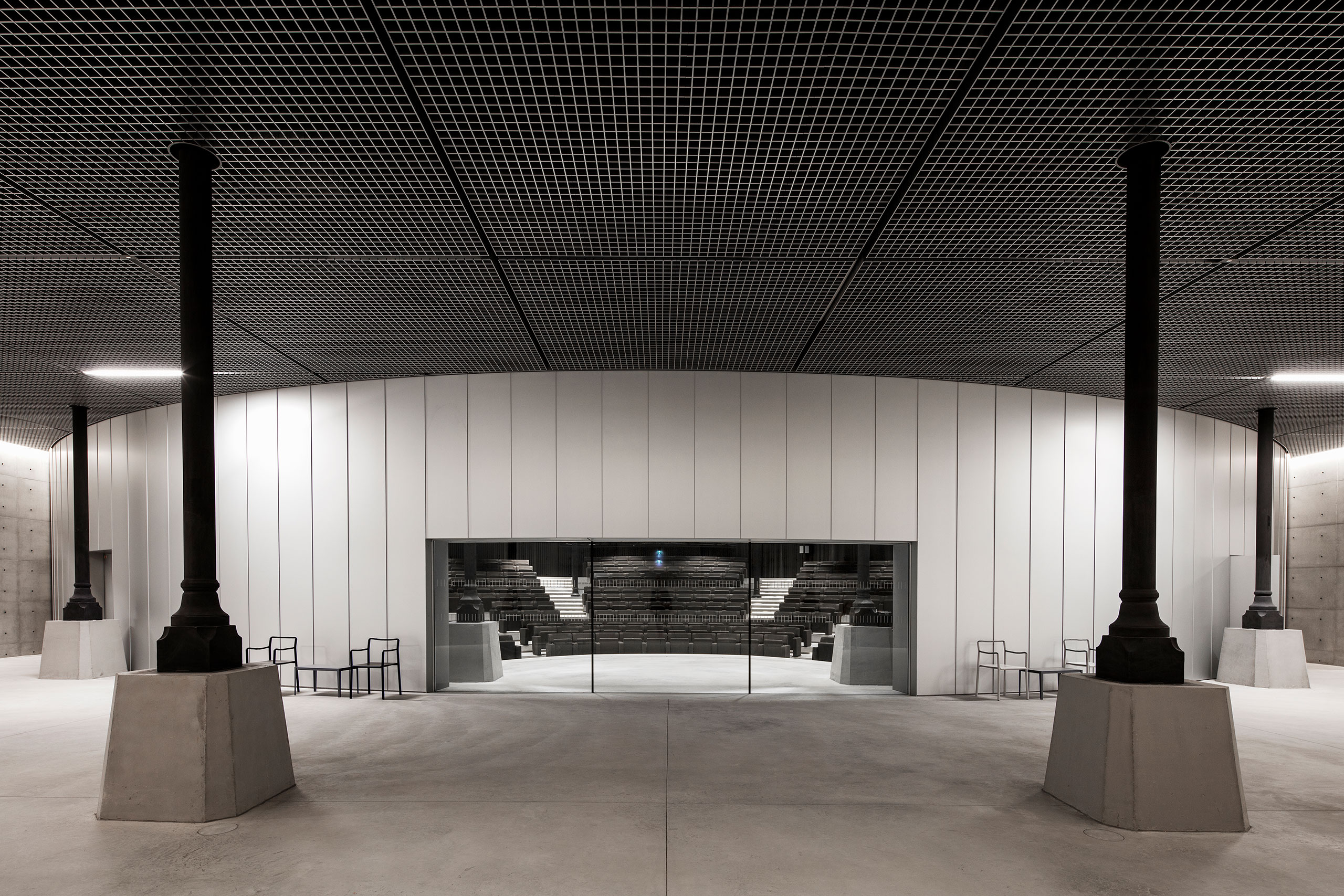 Bourse de Commerce - Pinault Collection © Tadao Ando Architect & Associates, Niney et Marca Architectes. Photo Patrick Tourneboeuf