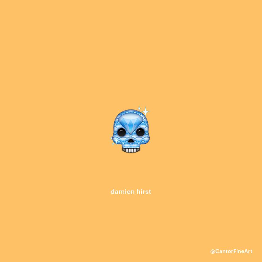Damien Hirst|Art Emoji©Cantor Fine Art,Los Angeles.