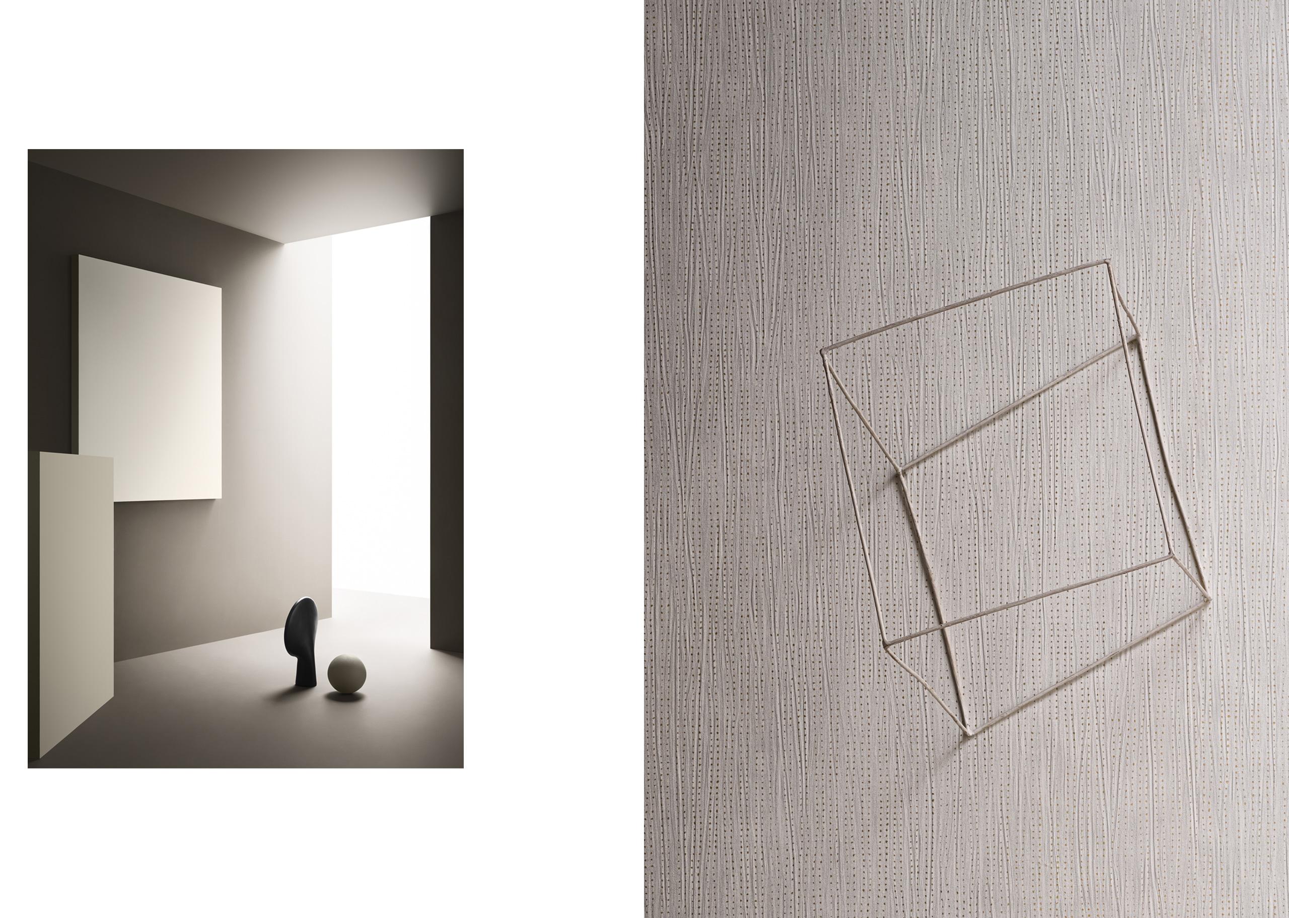 Style ColorsPalette 1 & Essential Wallpaper©Wall&decò.