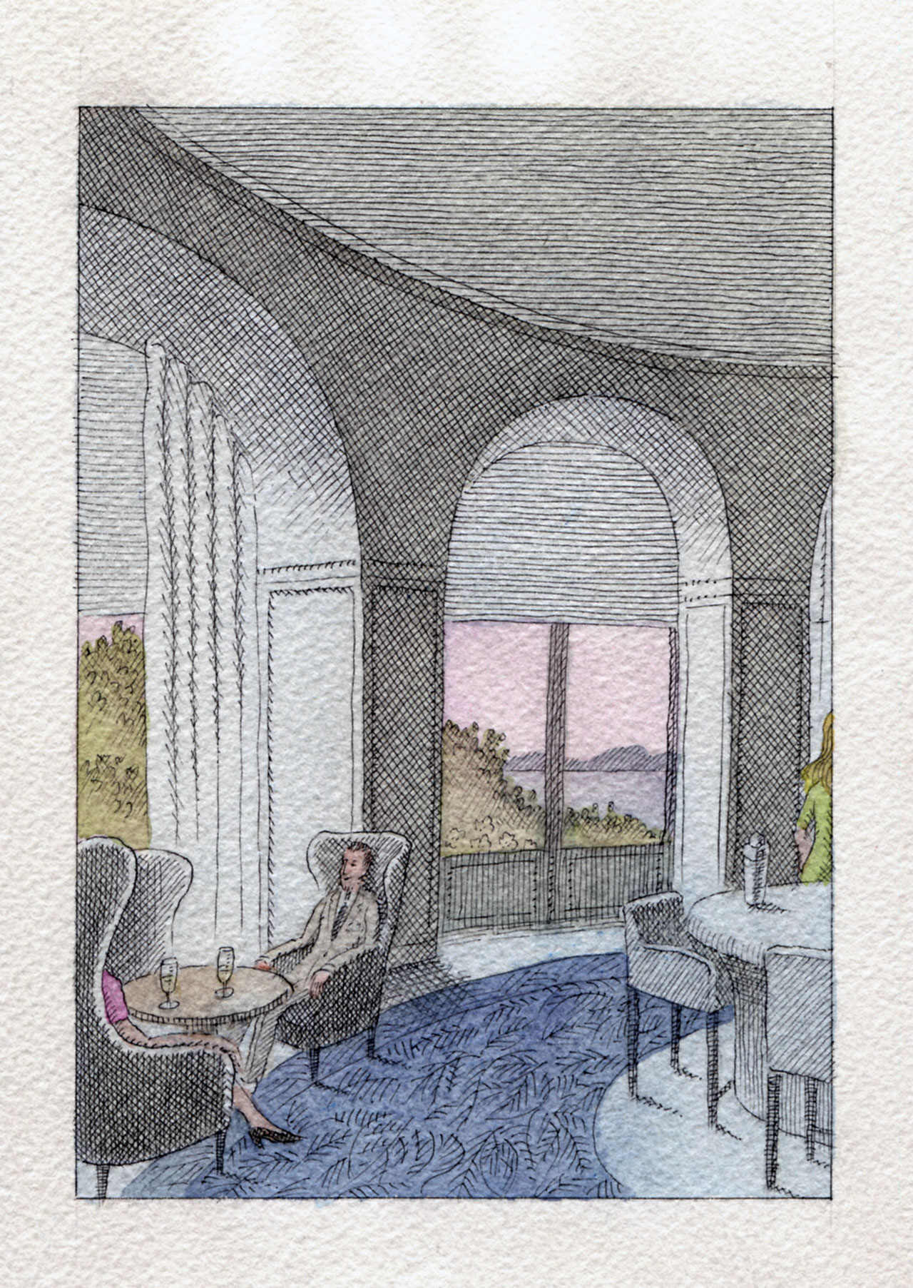illustration byPierre Le-Tan.